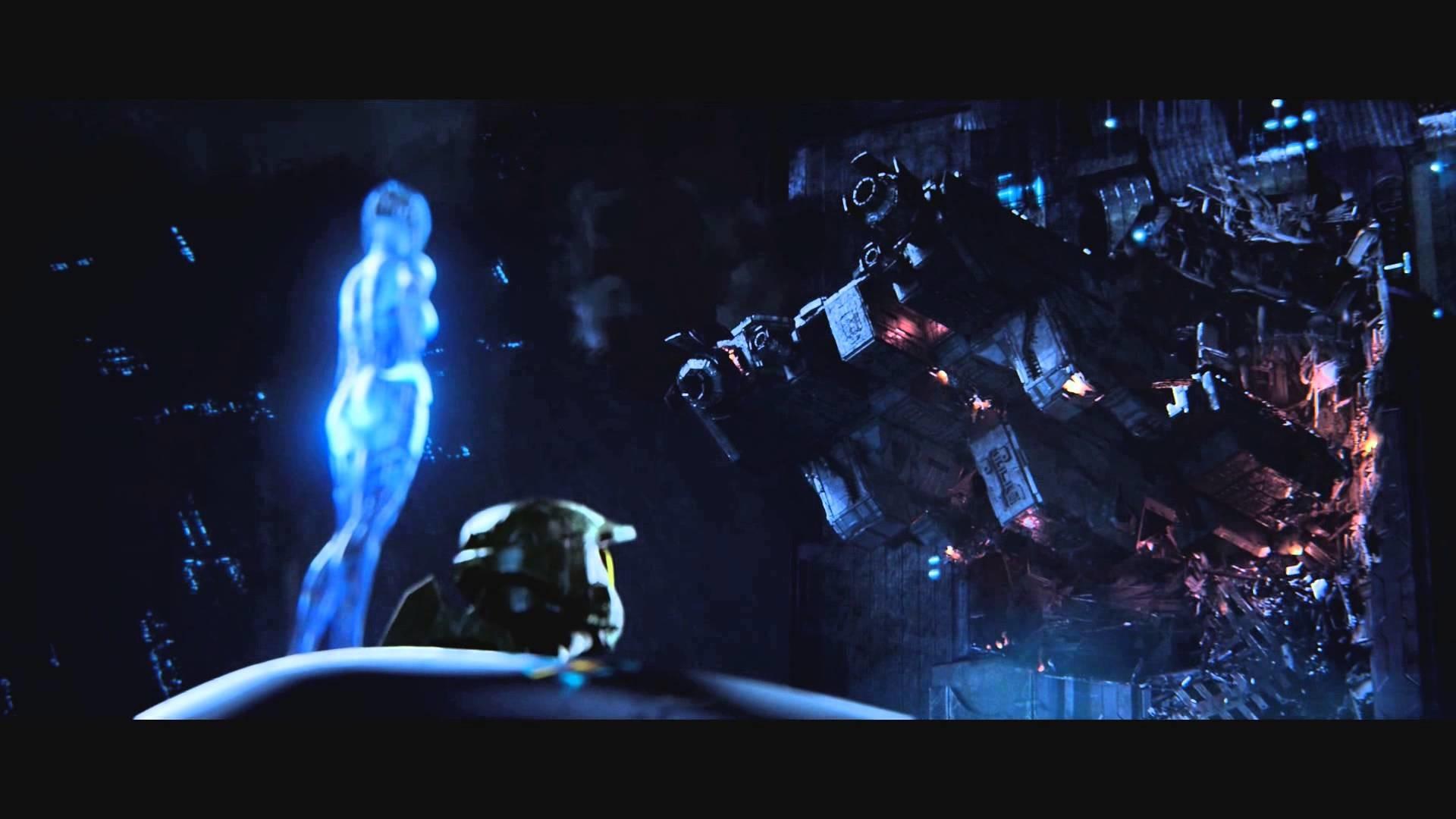 Halo 2 Anniversary Full Mission Cutscene 12 High Charity 1080p HD