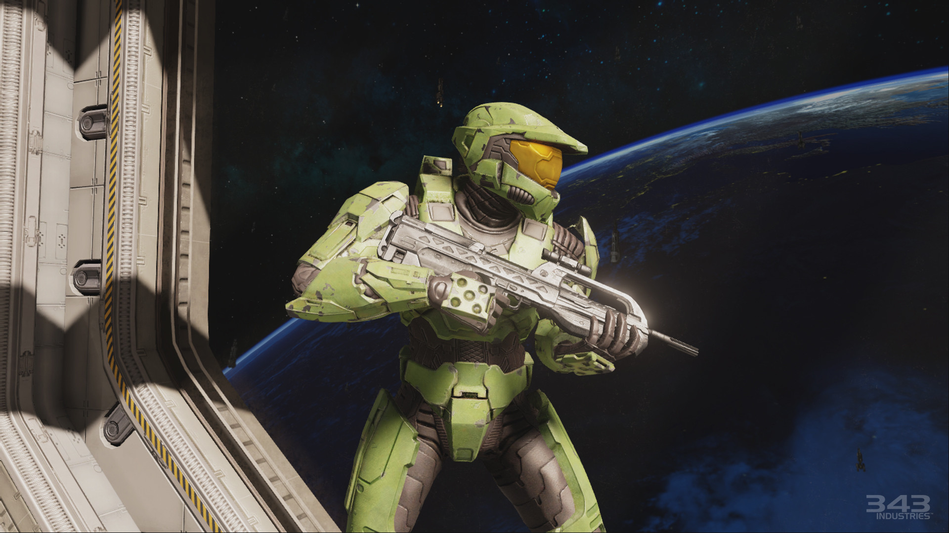 Halo 2 (Chiefs anniversary version because it is clearer)