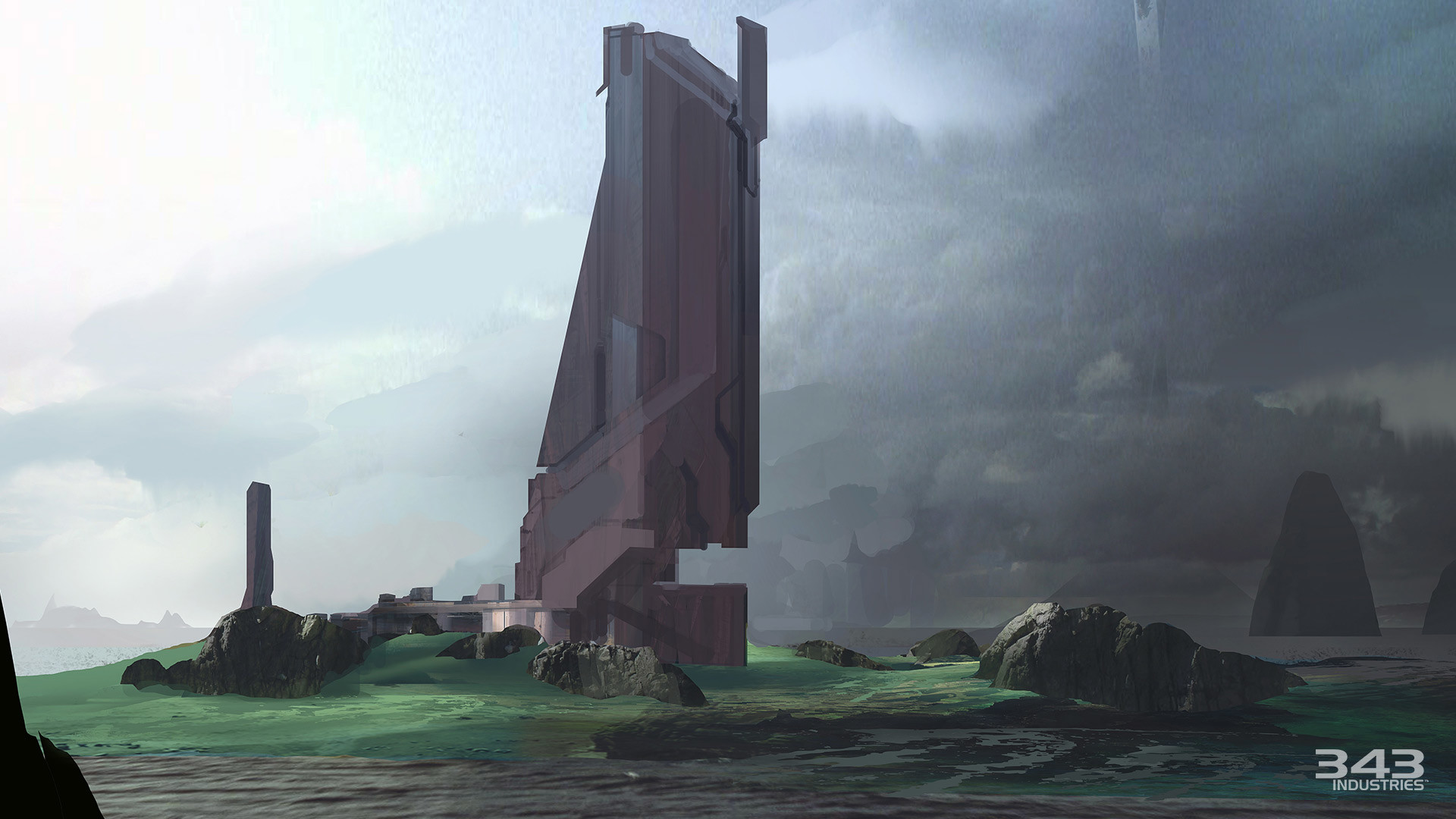 Halo 2 Anniversary Relic Concept Art. Wallpapers: [1920×1080] …