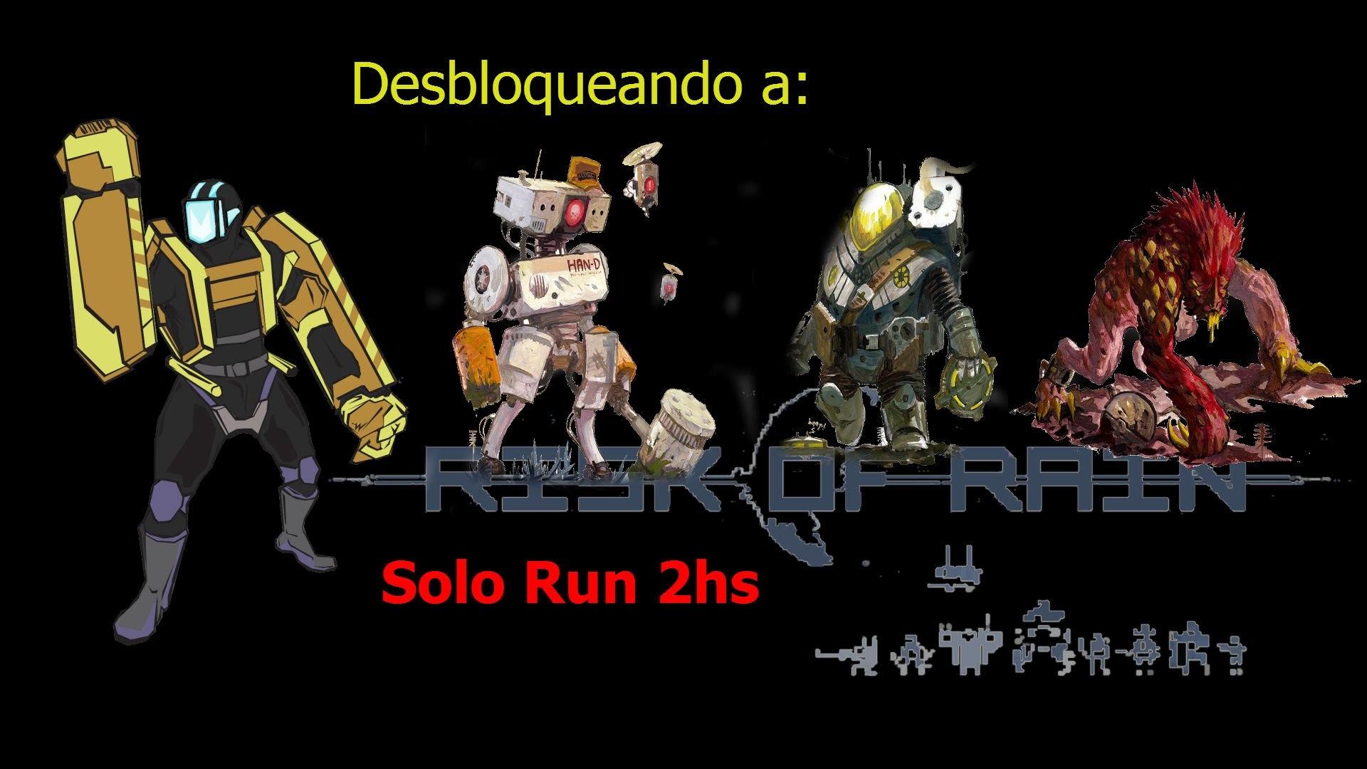 Risk Of Rain. Run Con LOADER + Como Desbloquear Acrid, Han-D y Engineer
