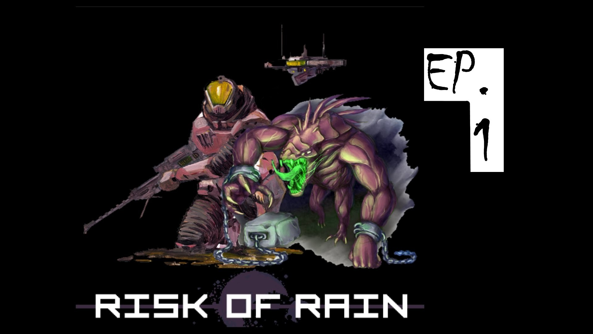 Risk of Rain: Sniper and Acrid Gameplay