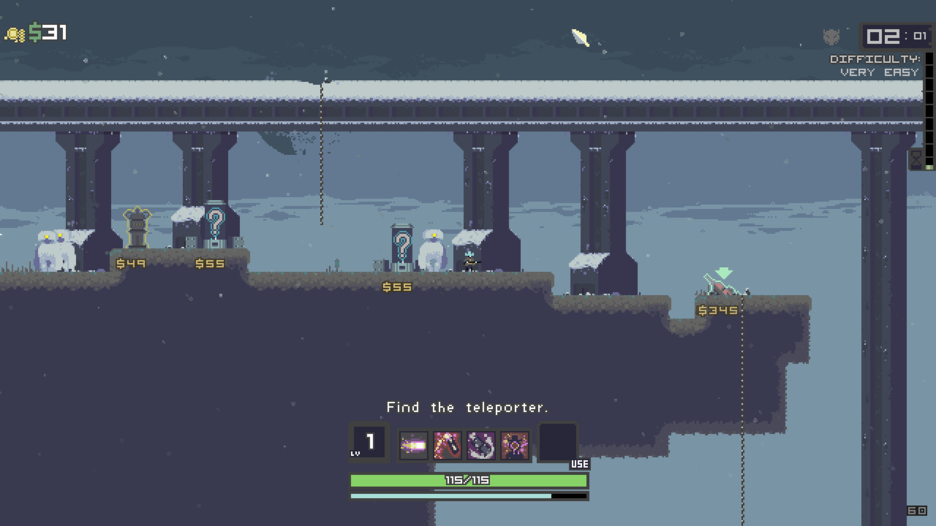 … Risk of Rain (GOG) PC Screenshot …