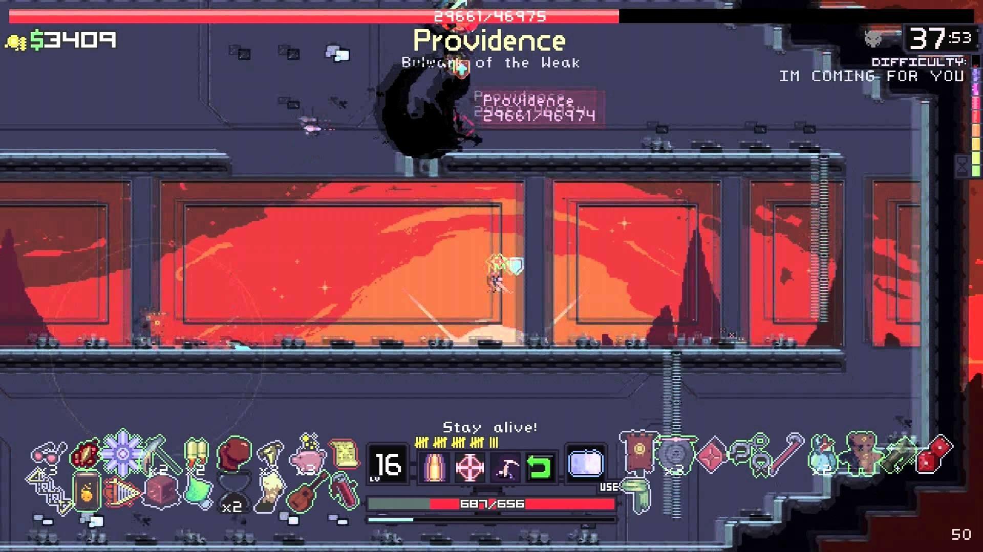 Risk of Rain – New Solo Sniper vs Providence