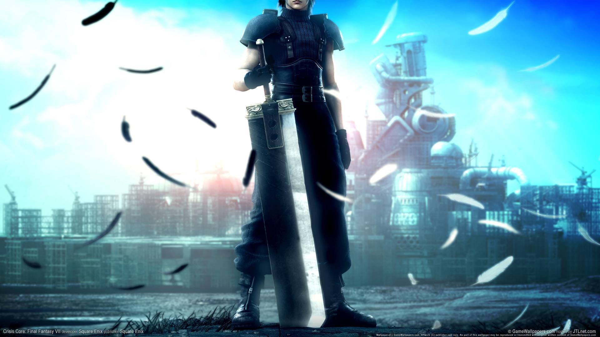 Final Fantasy 7 Crisis Core Wallpaper – Square-Enix Wallpaper