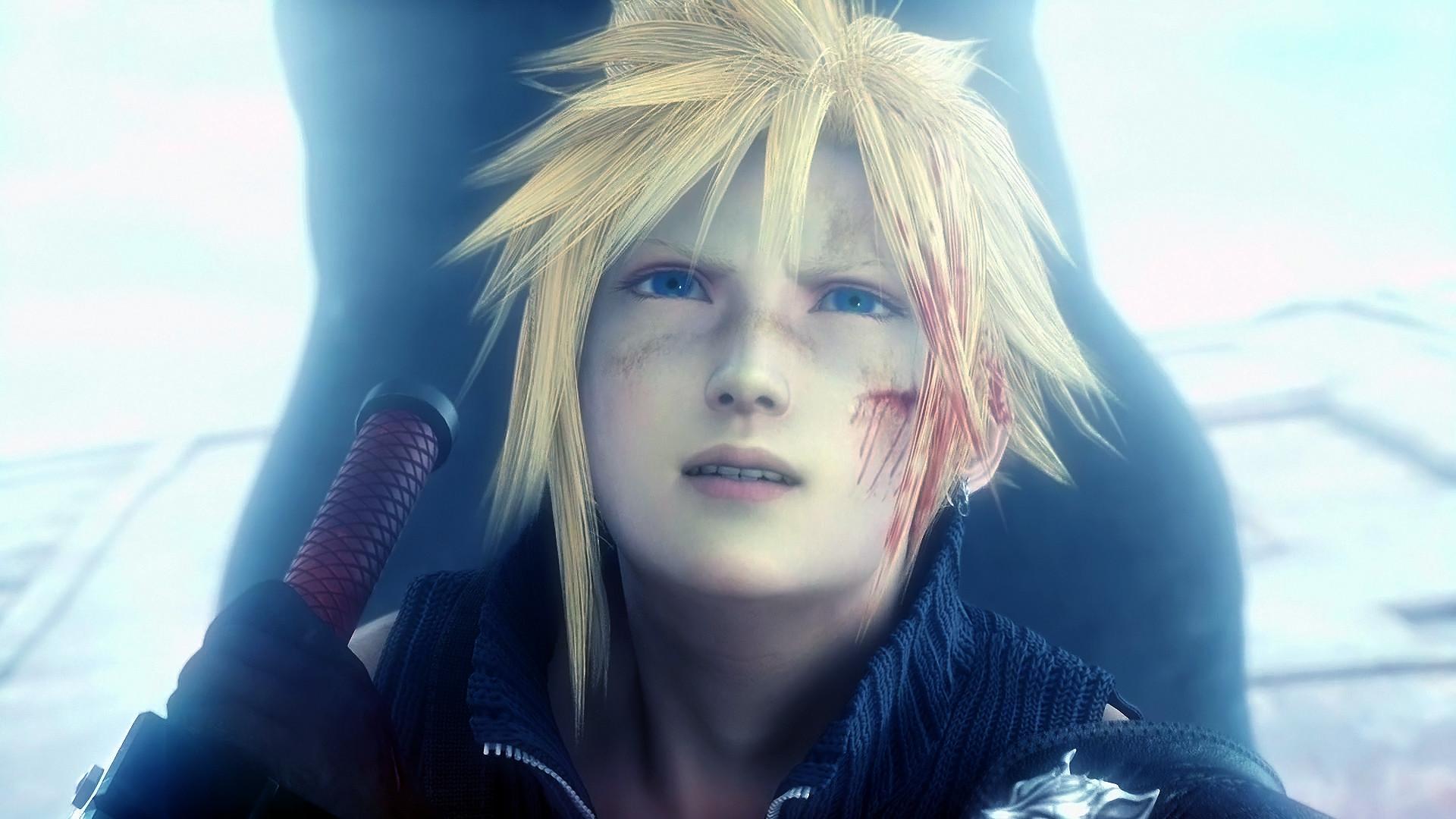 Tags: Anime, Nomura Tetsuya, Final Fantasy VII, Cloud Strife, Screenshot,