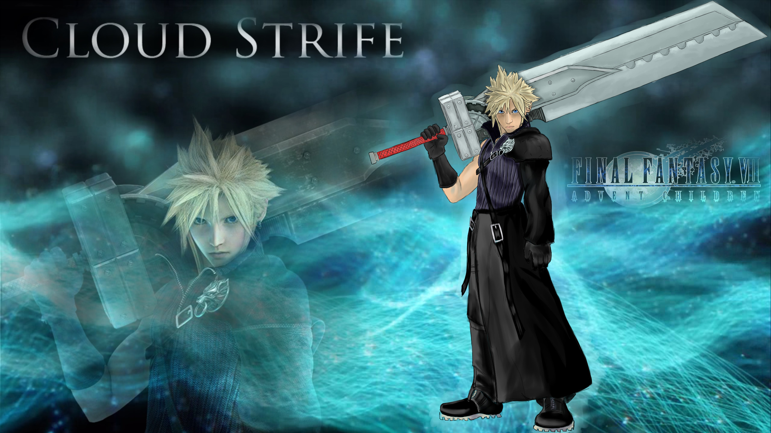 Cloud Strife Wallpaper 2 by Robsa990 Cloud Strife Wallpaper 2 by Robsa990