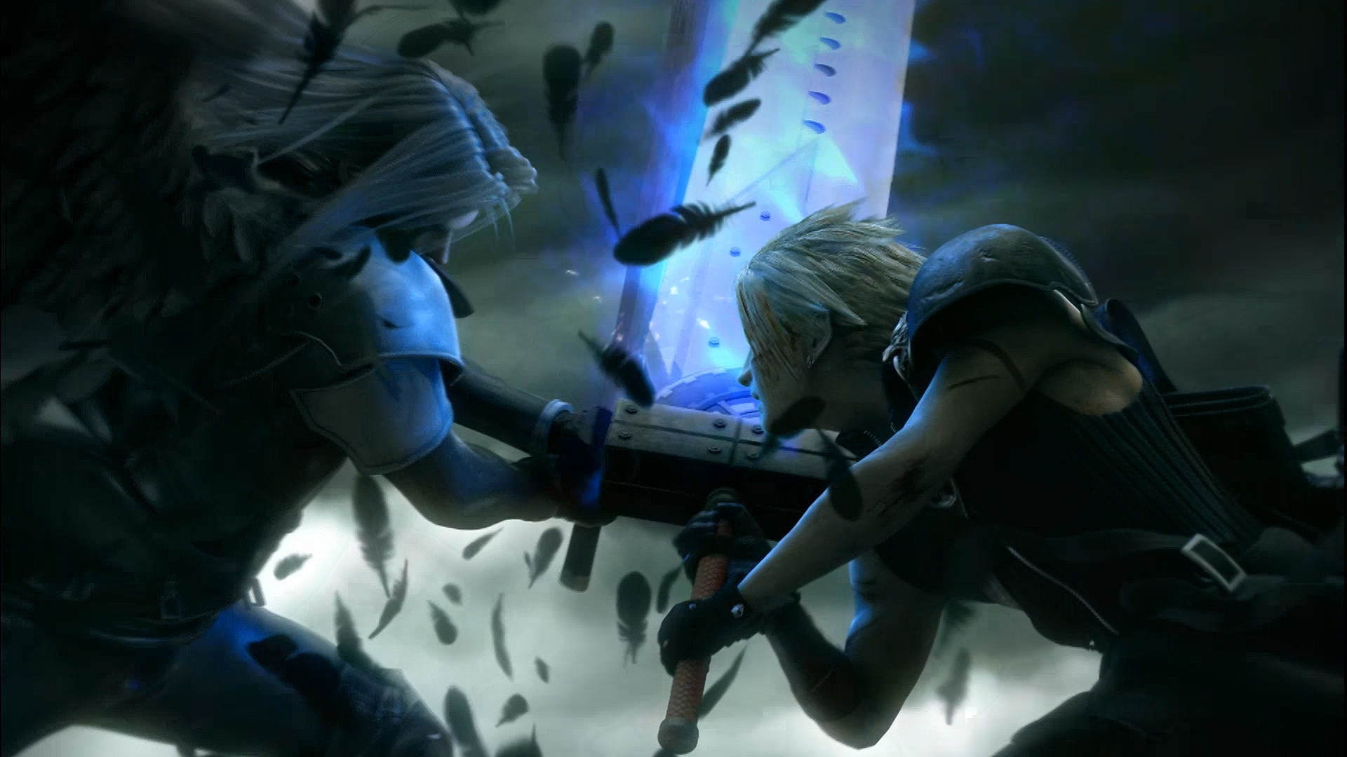 Final Fantasy – Cloud And Sephiroth