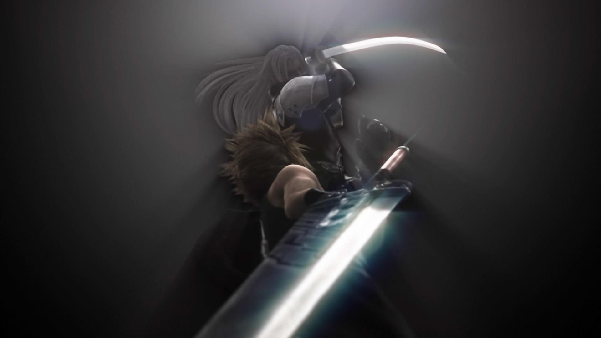 final fantasy vii advent children sephiroth buster sword cloud #9-sg