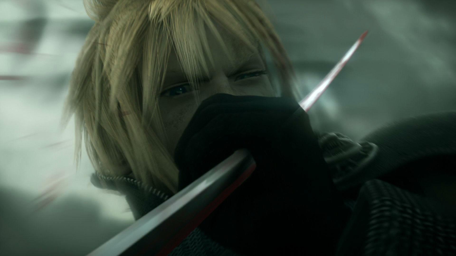 Tags: Anime, SQUARE ENIX, Final Fantasy VII, Cloud Strife, Screenshot,