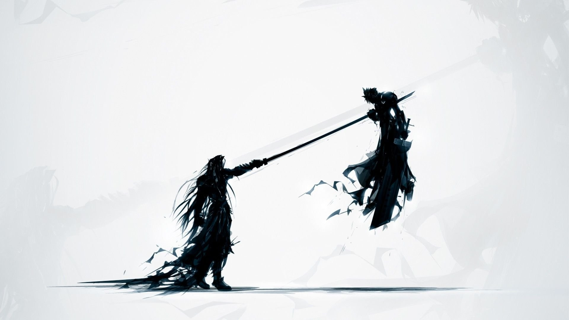 Cloud Strife And Sephiroth – Final Fantasy