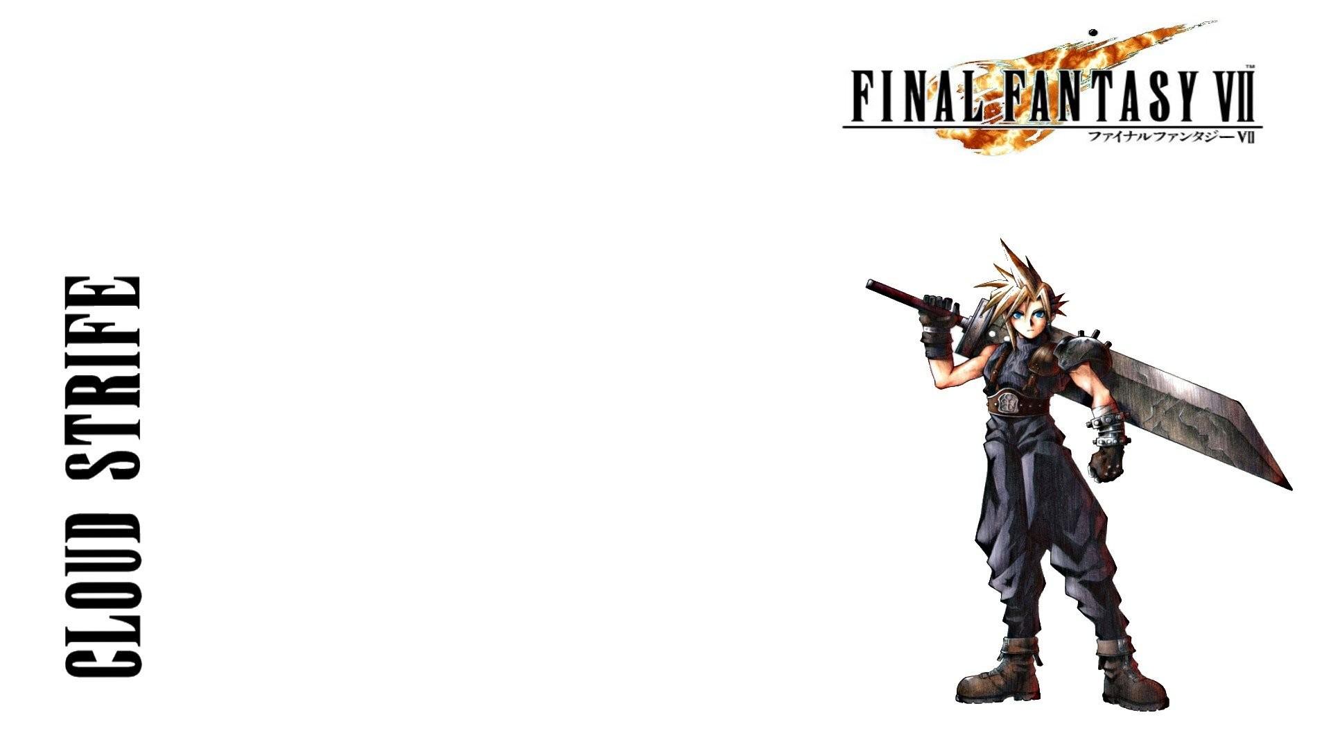 Final Fantasy VII Zack Fair Cloud Strife