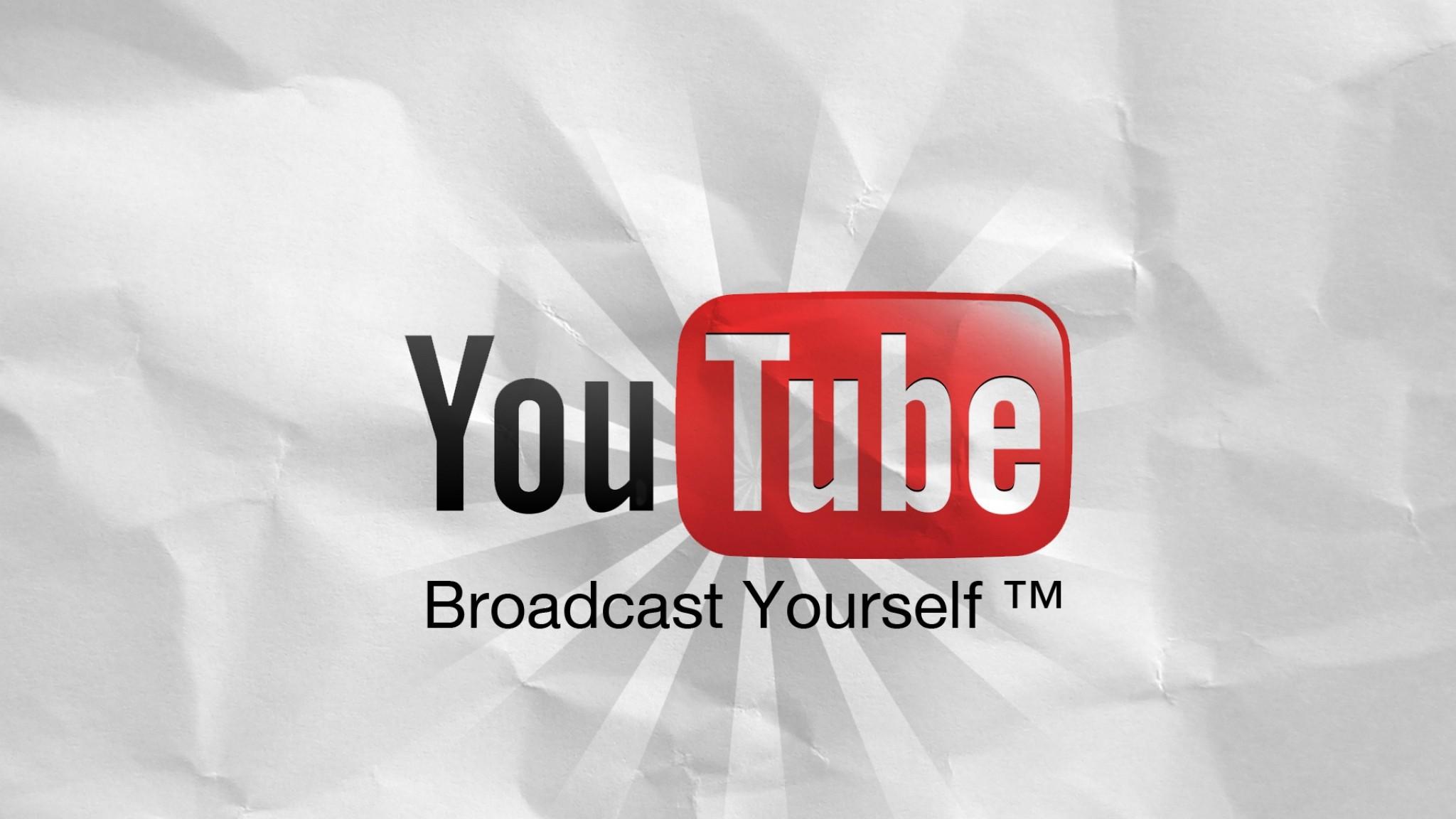 Wallpaper youtube, logo, information portal HD HD Background .