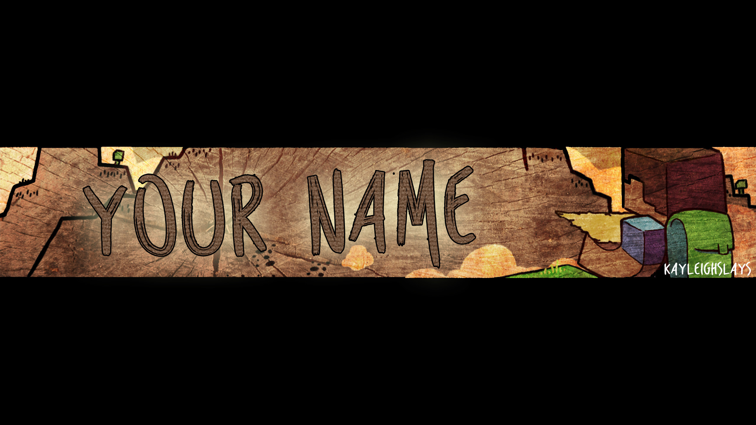 Channel Art Template (Photoshop) (5) By ItsRushed On DeviantArt