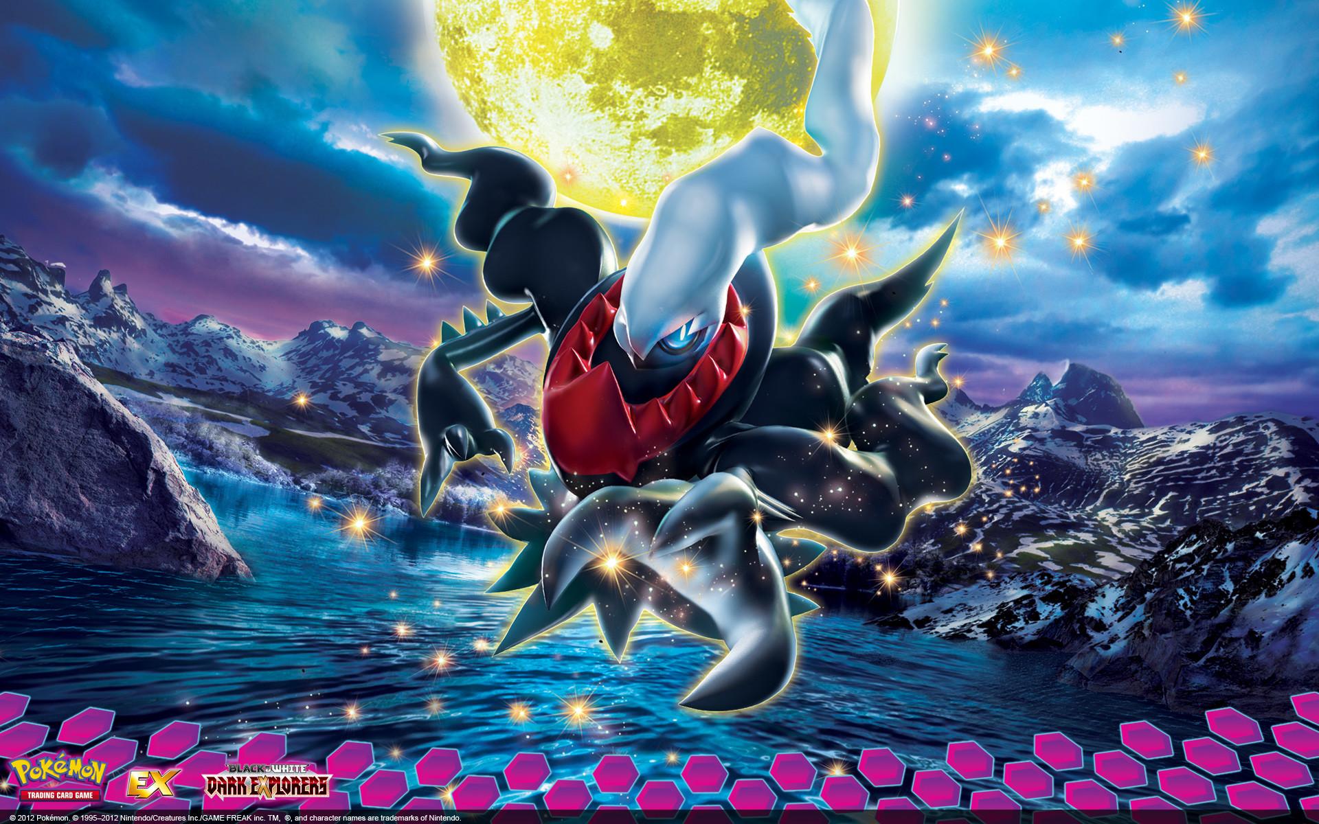 Pokémon TCG: Black & White—Dark Explorers desktop wallpaper .