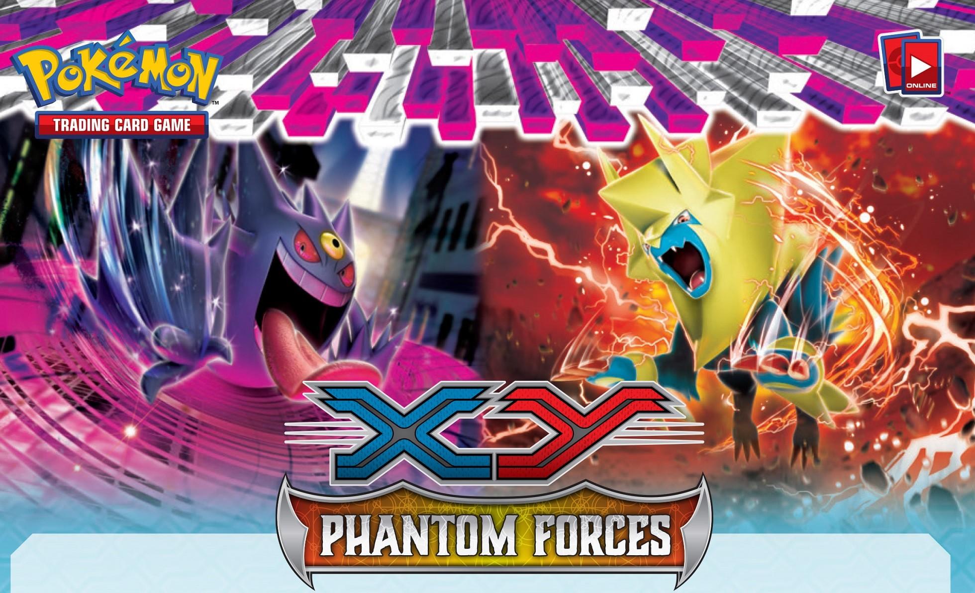 Pokemon XY TCG Phantom Forces Wallpaper