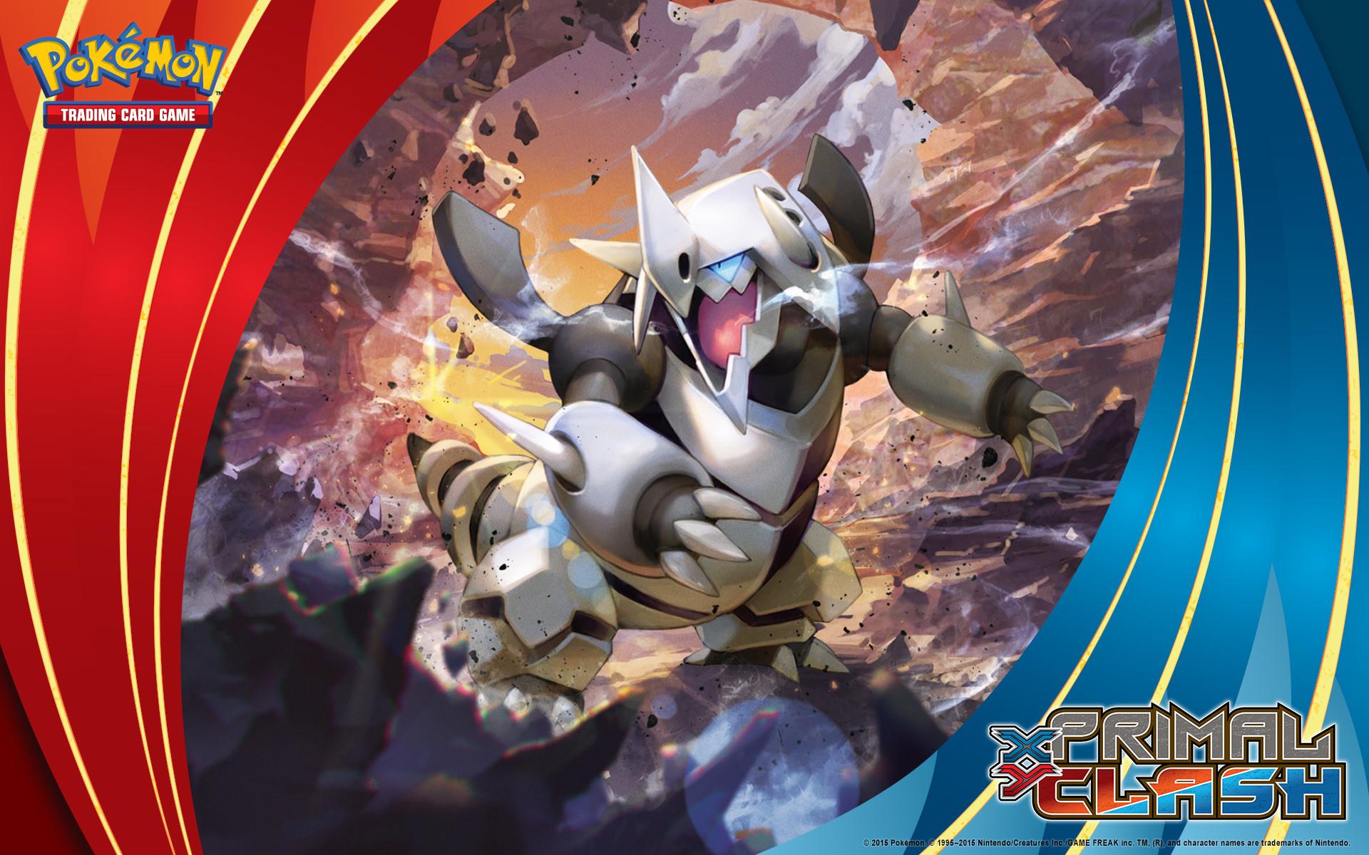 Pokémon TCG: XY—Primal Clash Mega Aggron Wallpaper