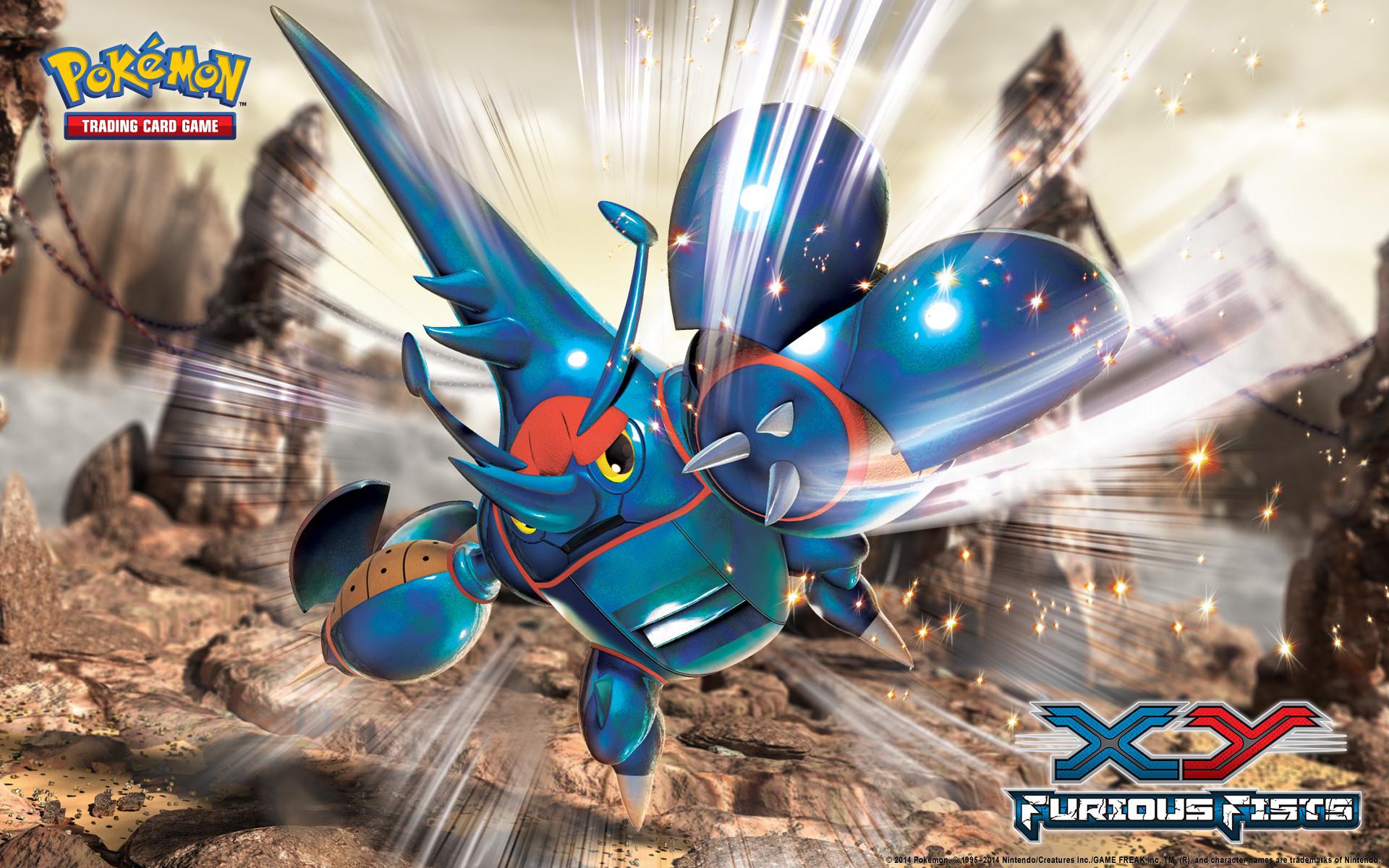Pokémon TCG: XY—Furious Fists Mega Heracross Wallpaper