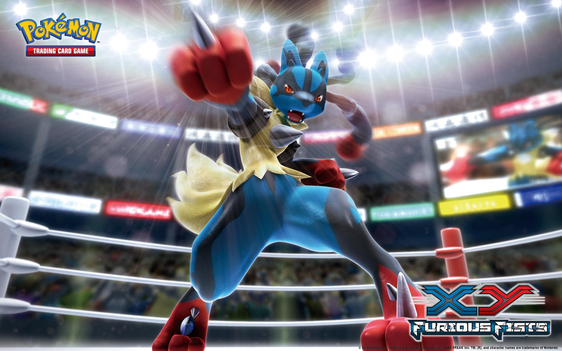Pokémon TCG: XY—Furious Fists Mega Lucario Wallpaper