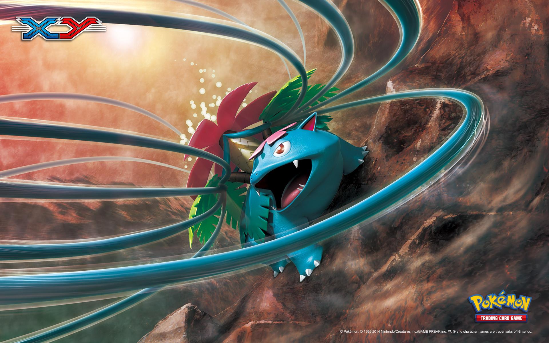 Pokémon TCG: XY Venusaur Wallpaper
