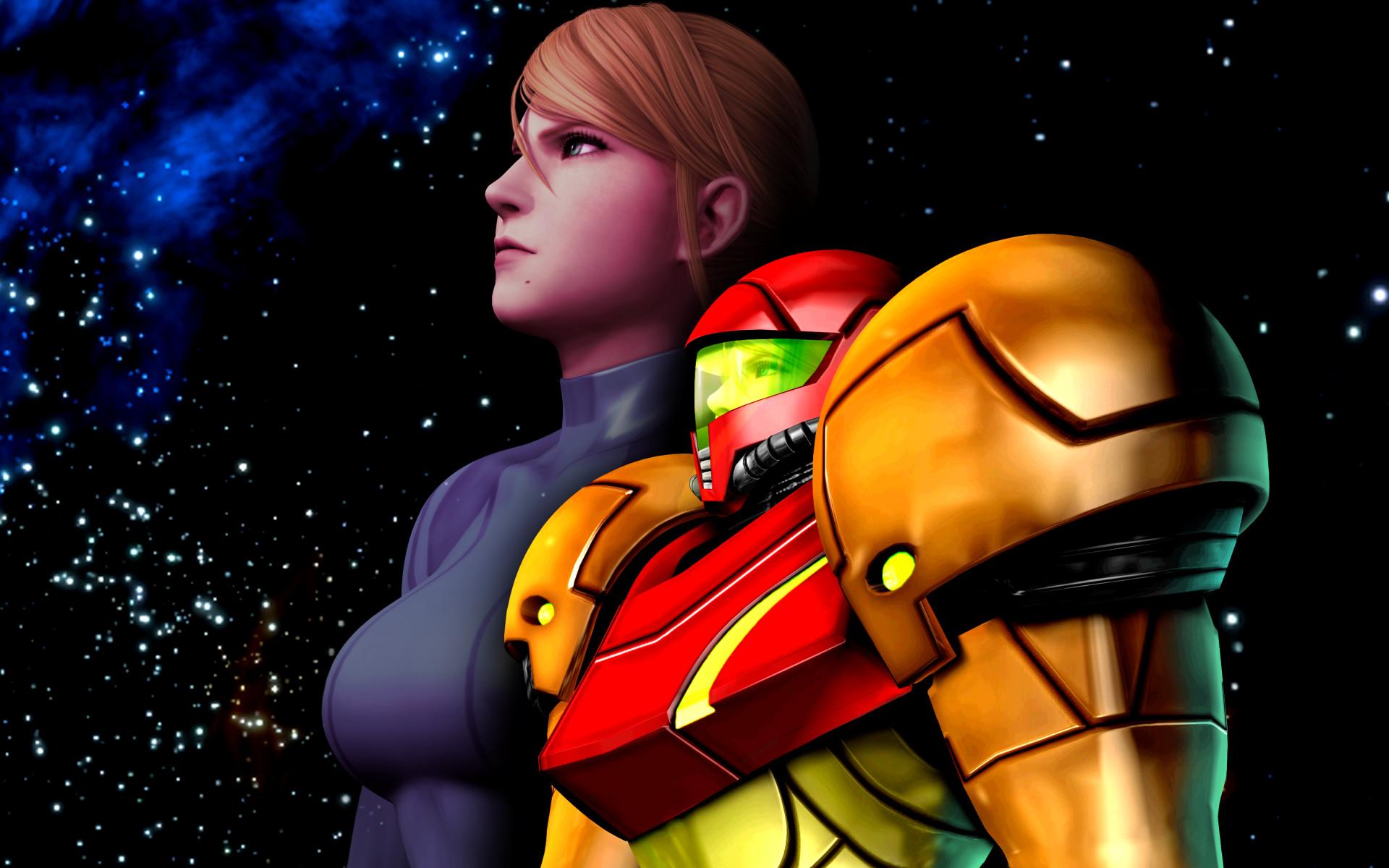 Metroid Samus Aran Zero Suit Samus wallpaper