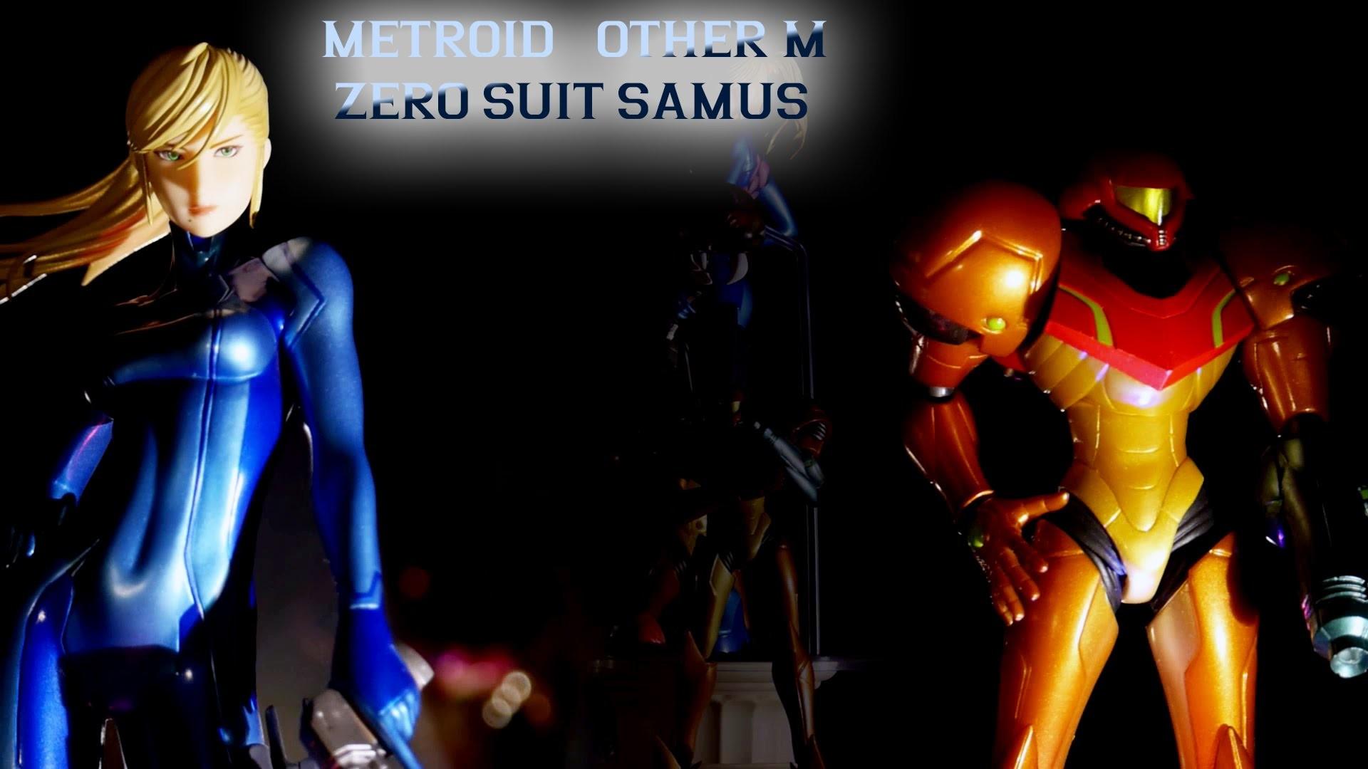 Metroid Other M – Zero Suit Samus figure (Max Factory/GoodSmile)