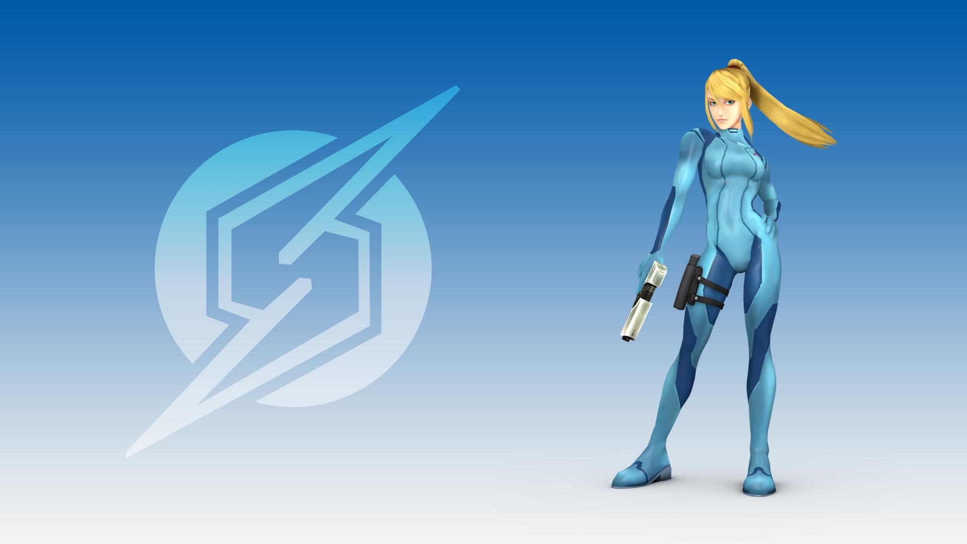 … Zero Suit Samus [Wallapaper Pack] by Tailsmiles249
