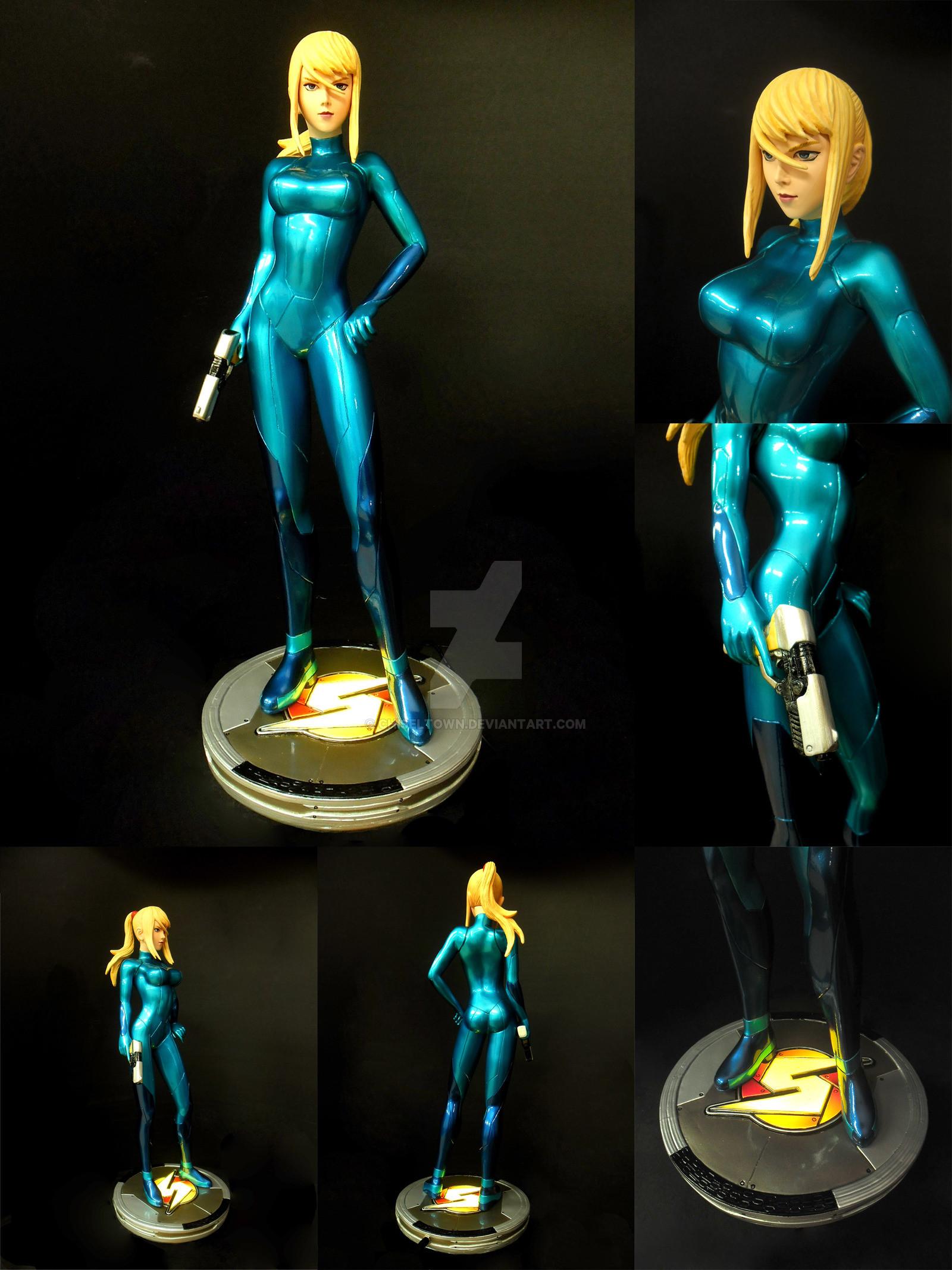 … Samus Aran Zero Suit 1/4 scale by chiseltown