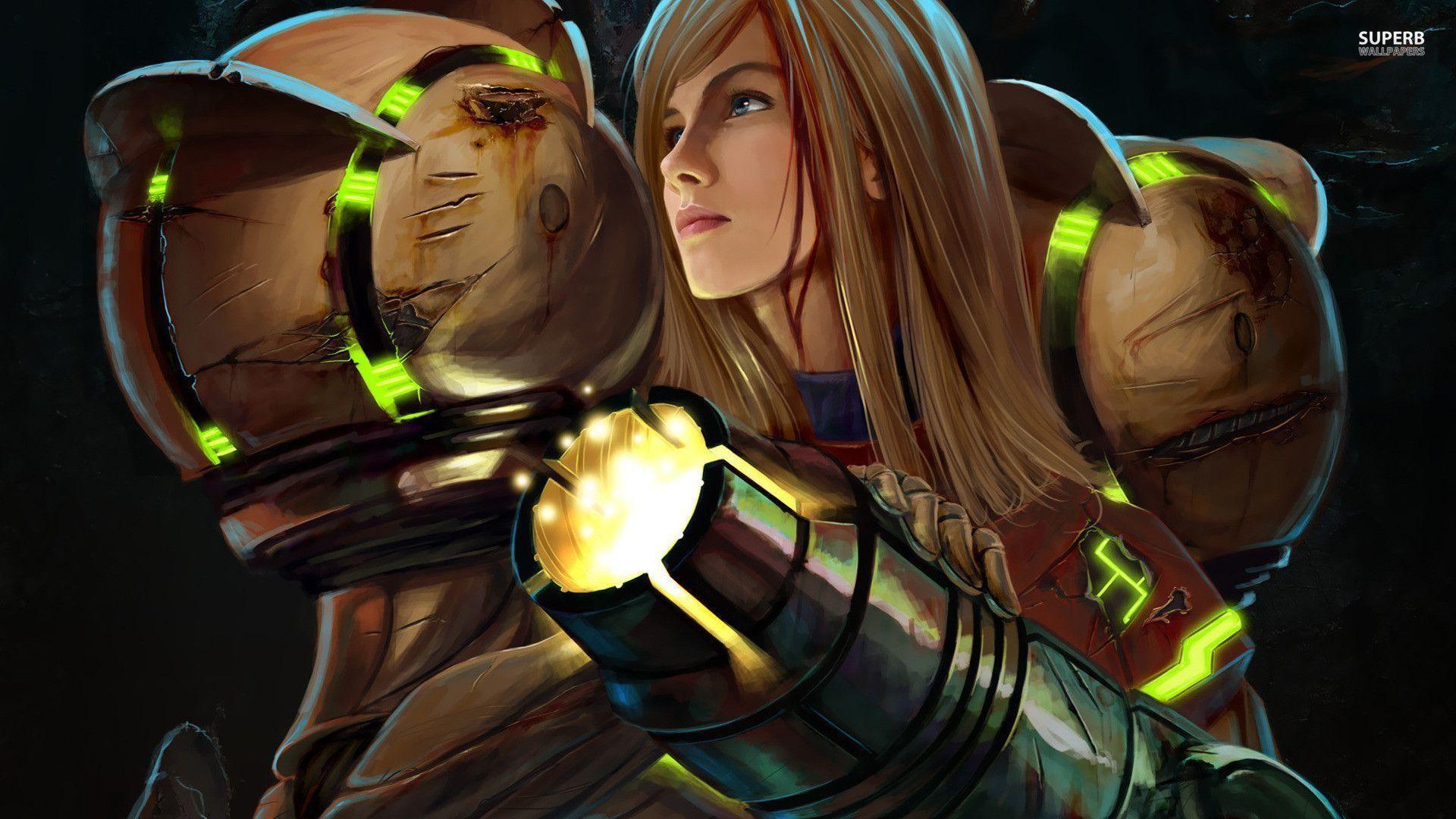 Samus Aran – Metroid Prime wallpaper – Game wallpapers – #