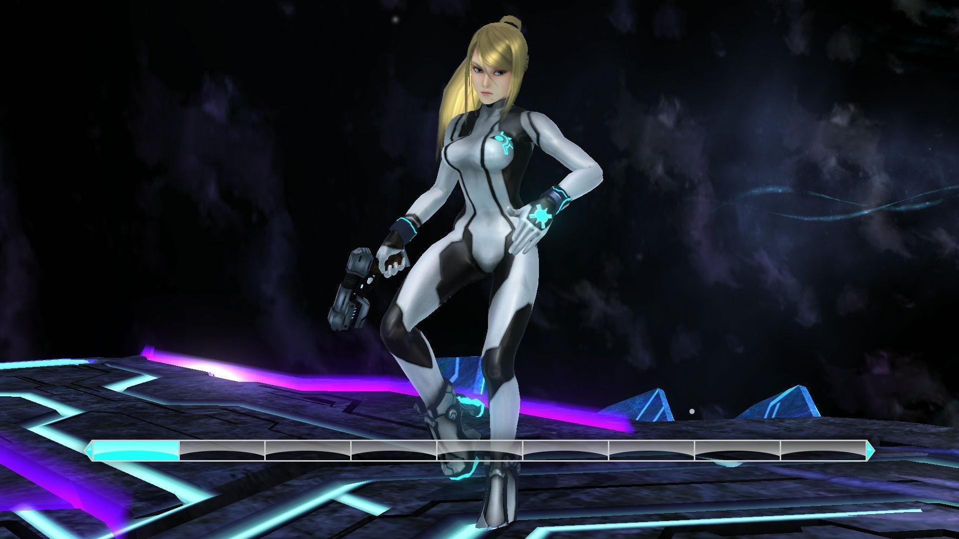 Zero Suit Samus (Beaty Recolor) (Super Smash Bros. for Wii .