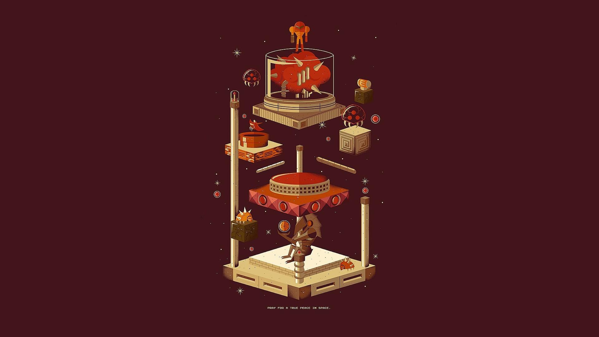 Video Game – Metroid Samus Aran Wallpaper