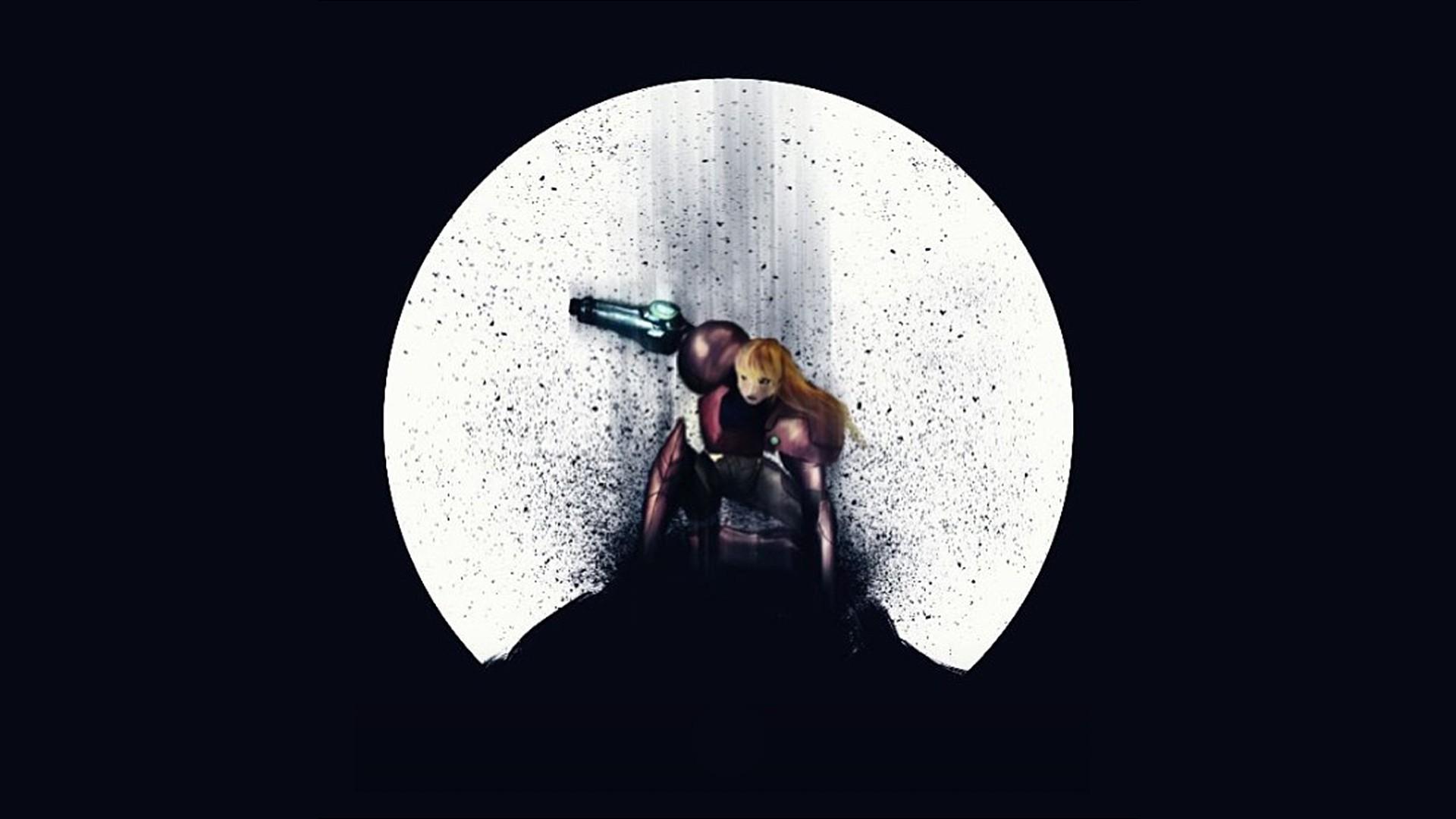 Metroid Prime · fan art · black background