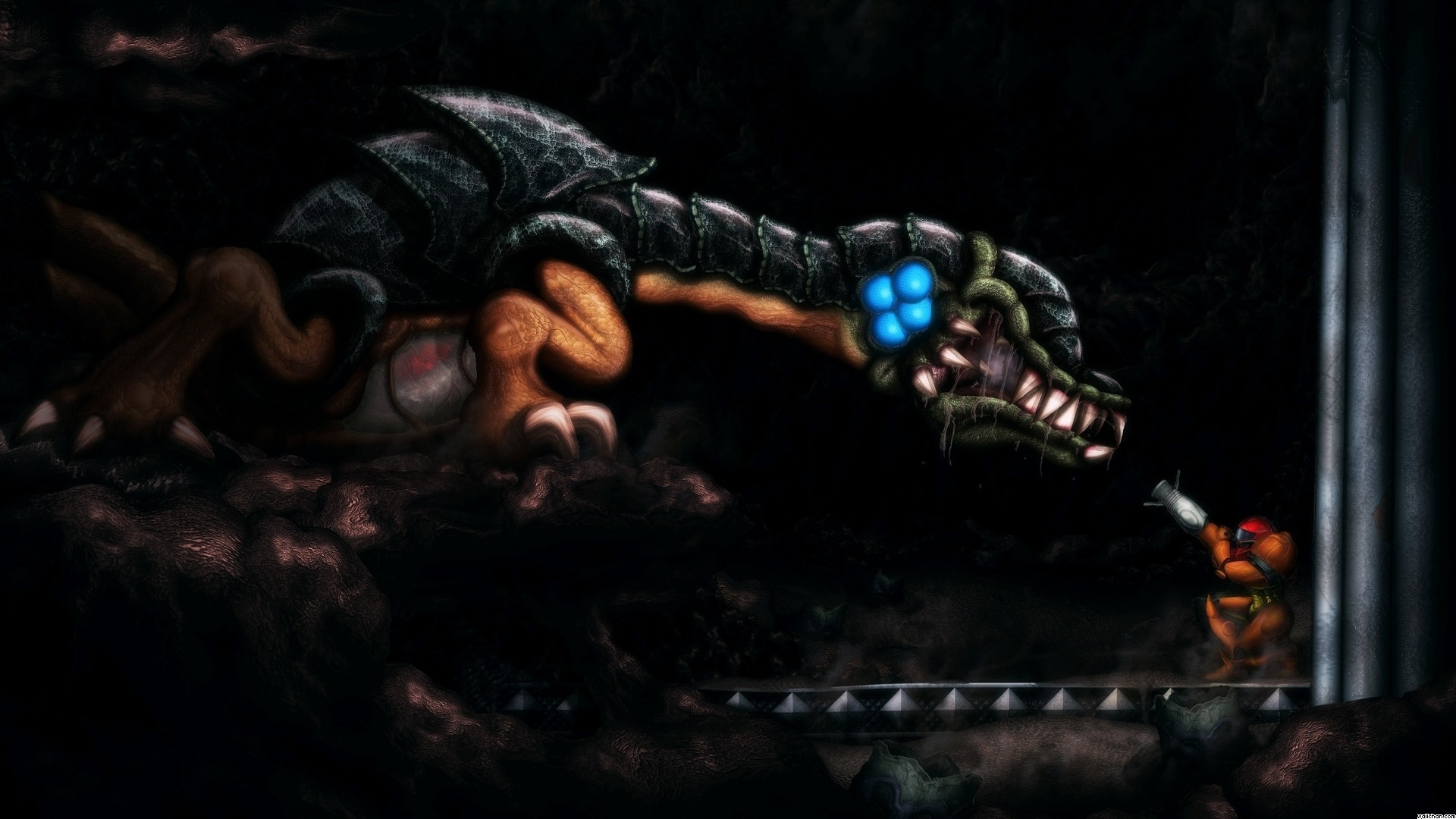 6 Metroid II: Return of Samus HD Wallpapers | Backgrounds – Wallpaper Abyss