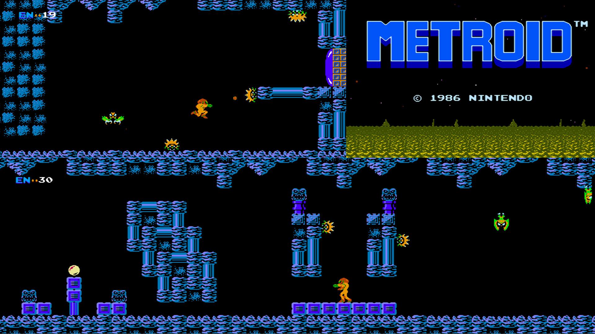 Video Game – Metroid Bakgrund