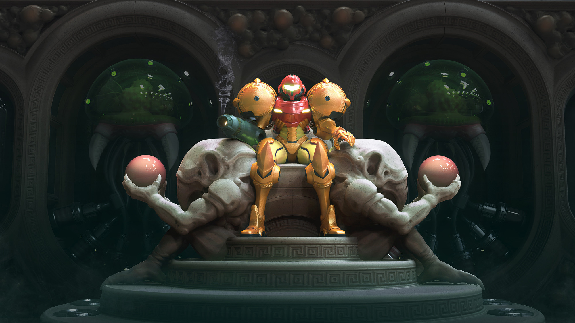 Video Game – Metroid: Samus Returns Samus Aran Wallpaper