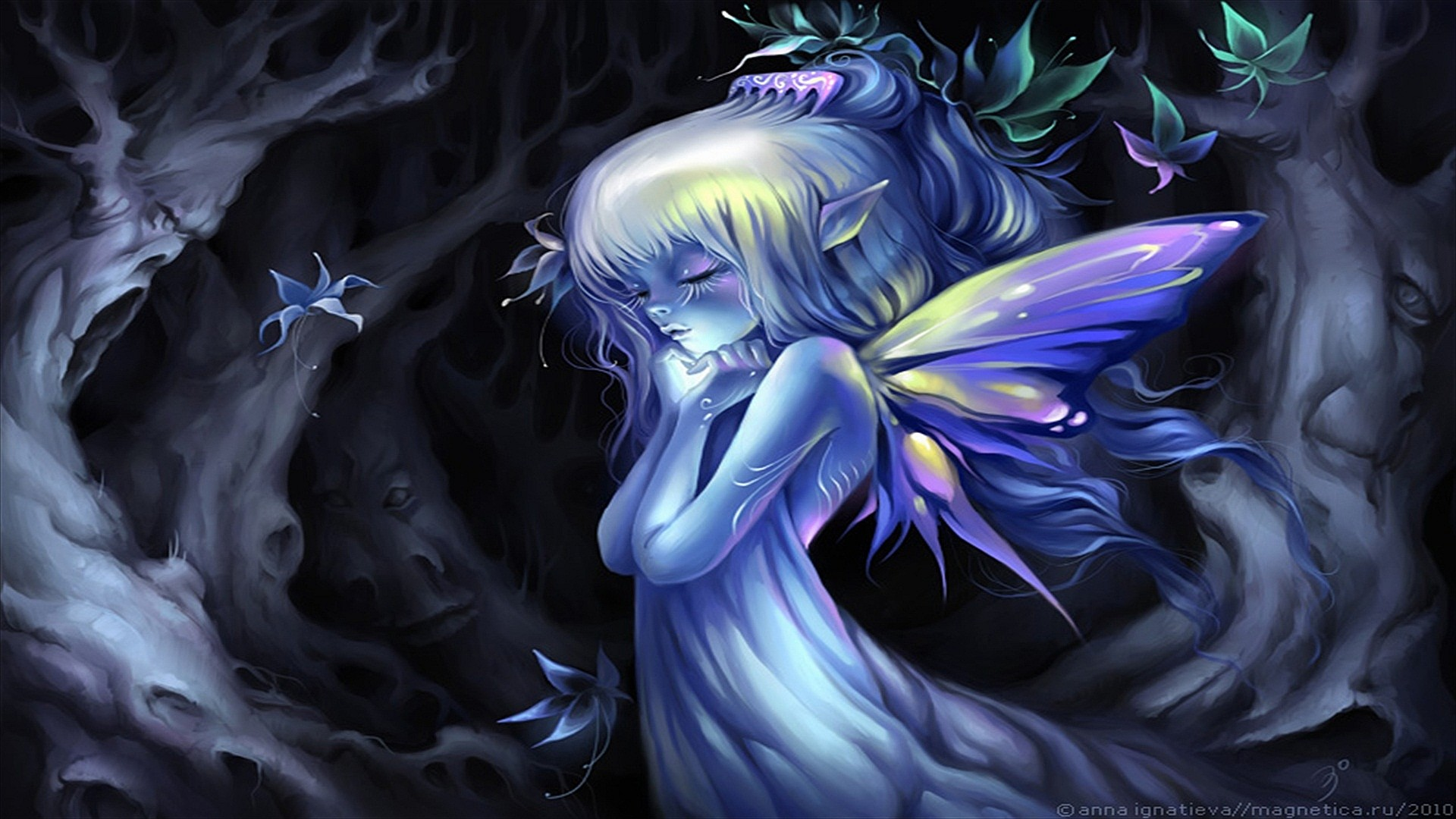 Gothic Fairy Screensavers | Fairy Computer Wallpapers, Desktop Backgrounds  | | ID:160408