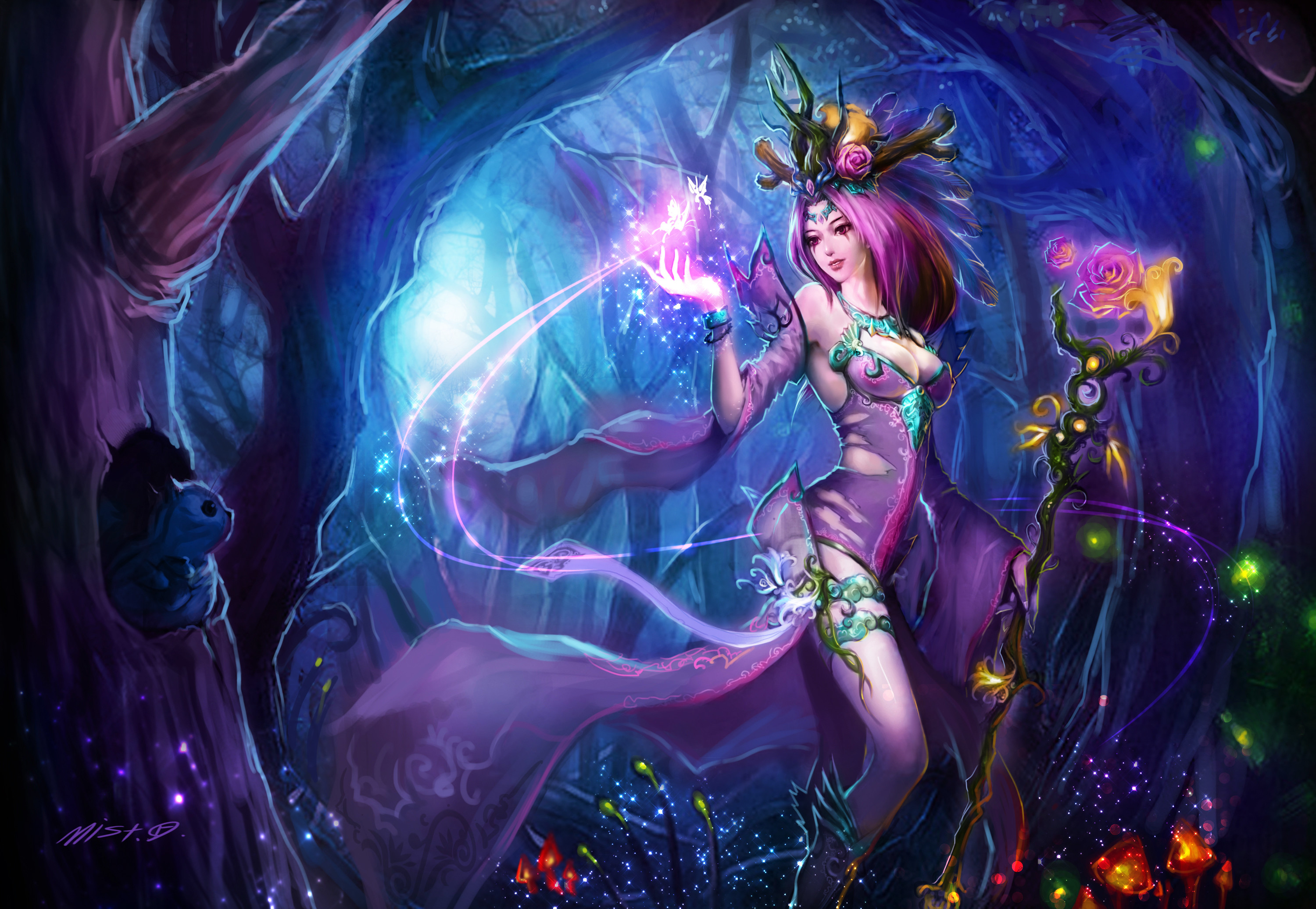 Dark Fairy Picture Wallpapers High Resolution Wallpaper Water .