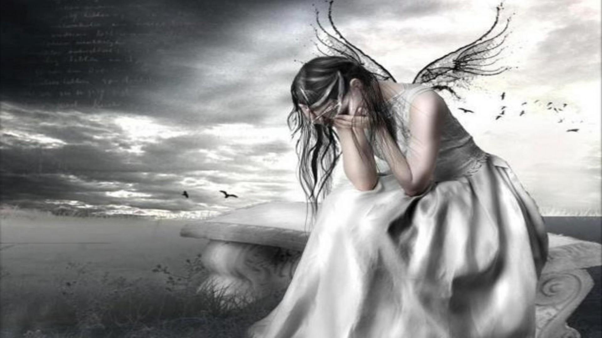Crying Fairy Wallpaper – MixHD wallpapers