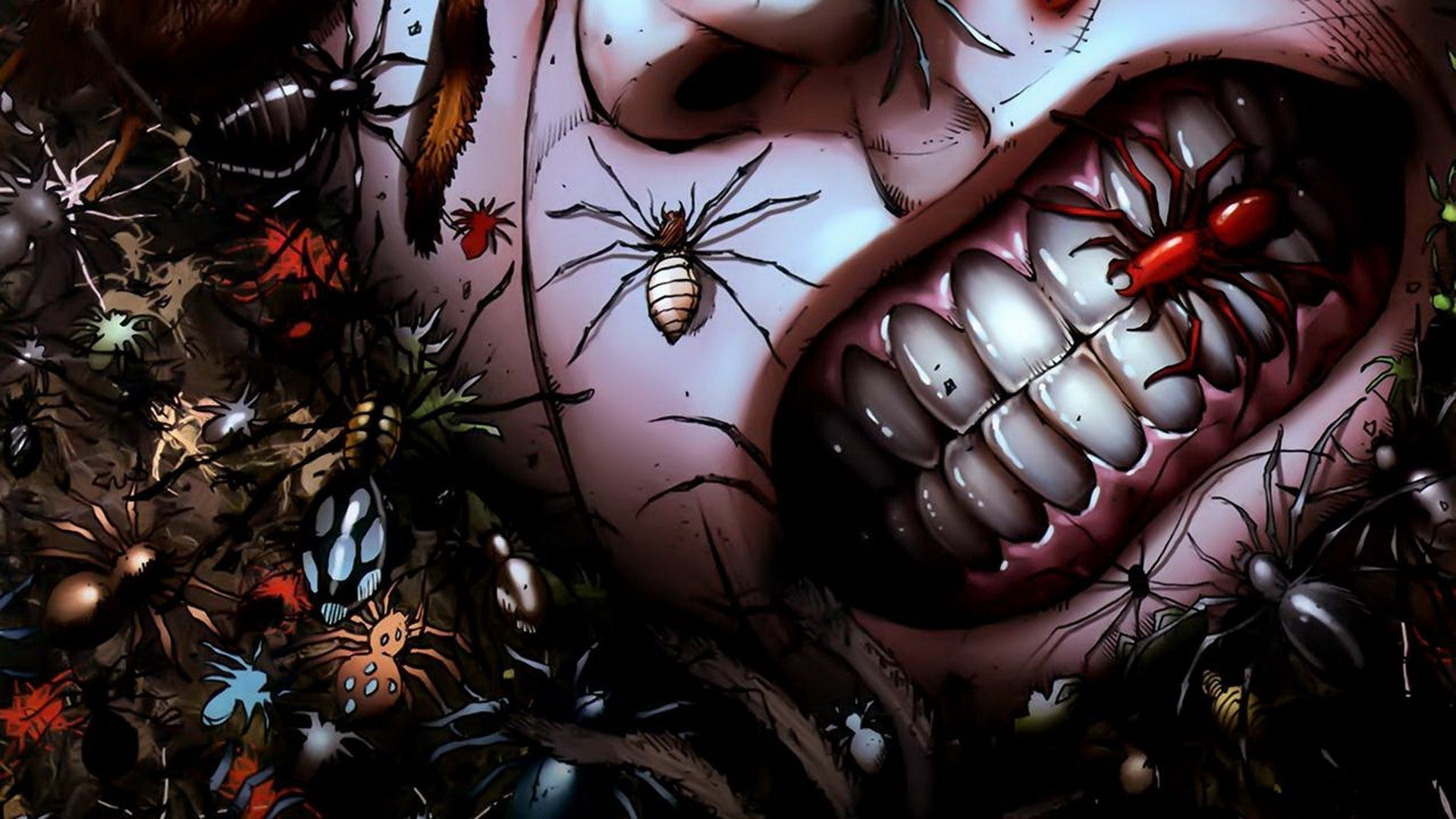 Grimm-Fairy-Tales comics anime dark horror insects spider grimace gross  spooky creepy scary wallpaper | | 24177 | WallpaperUP