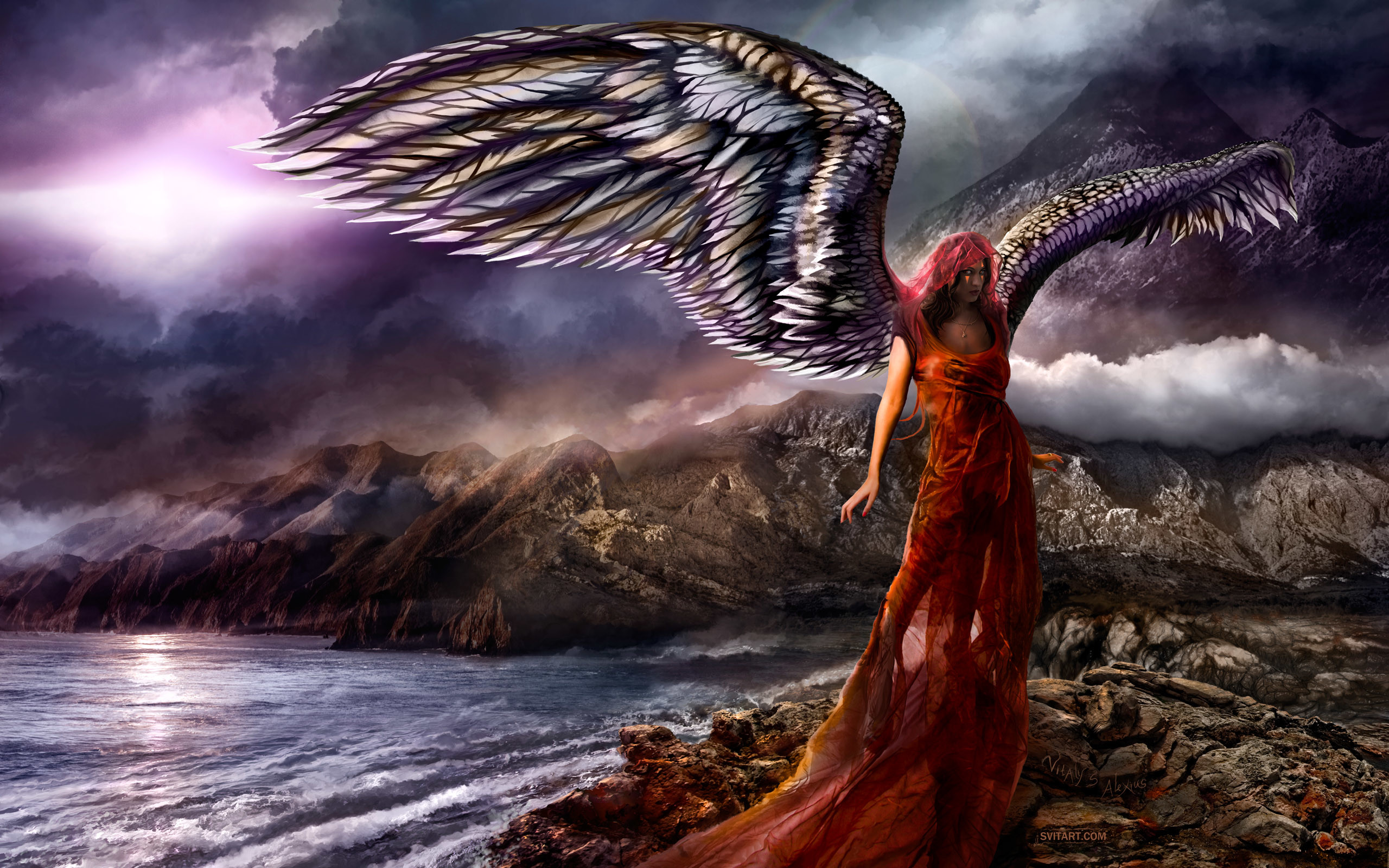 Fantasy – Angel Wallpapers and Backgrounds
