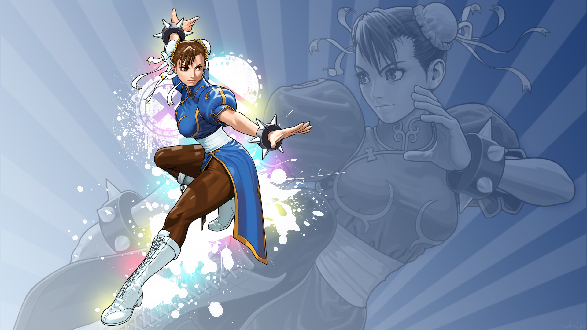 chun-li street fighter tatsunoko vs capcom best widescreen HD .