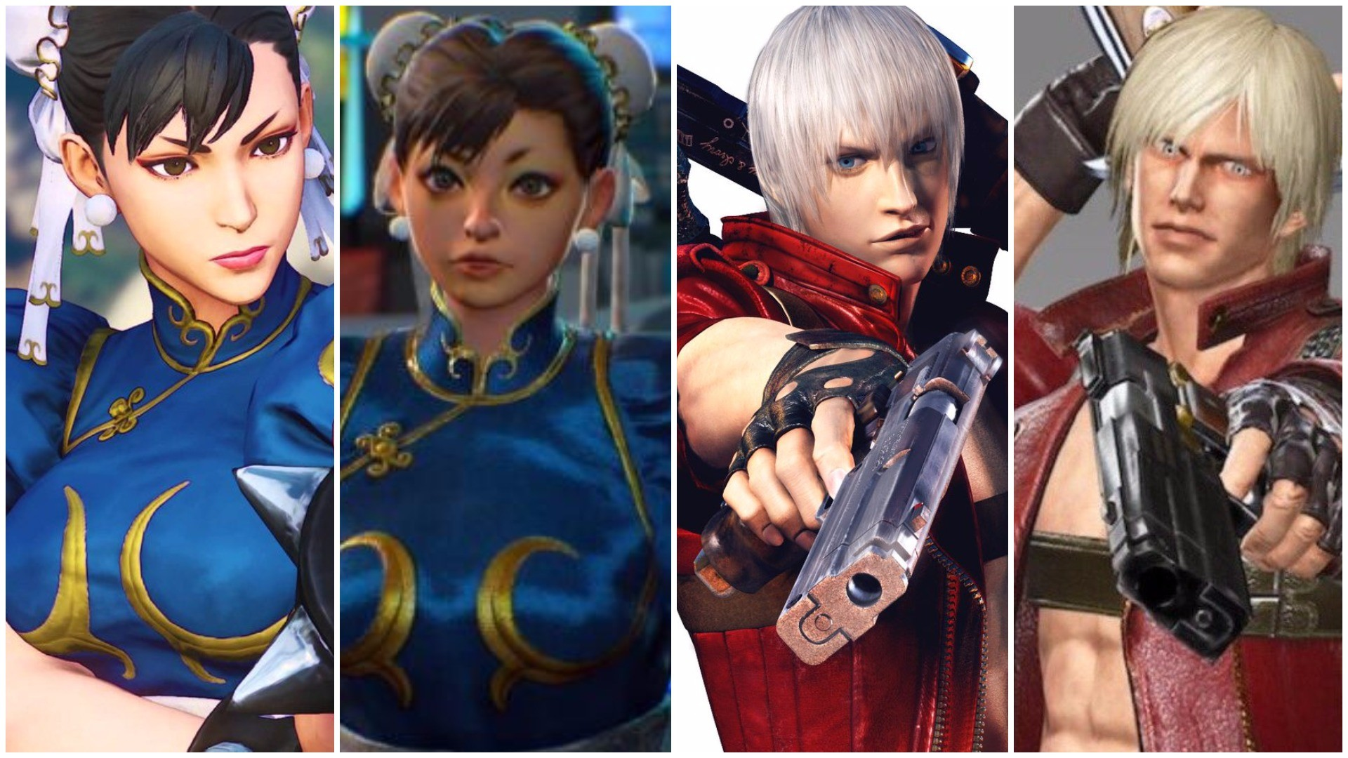 Chun-Li And Dante Look Weird Now, Capcom
