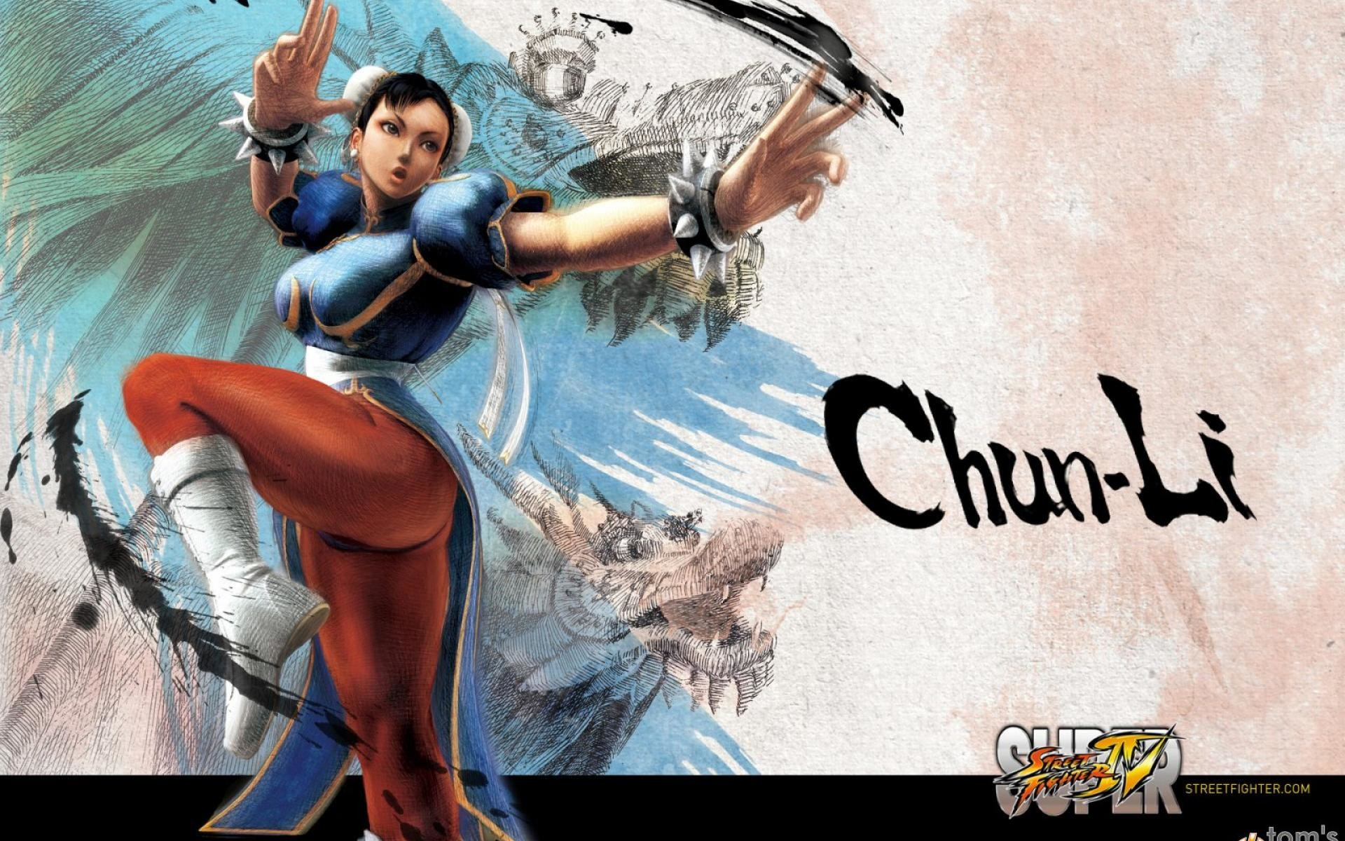 Super Street Fighter 4 Chun-Li Wallpaper