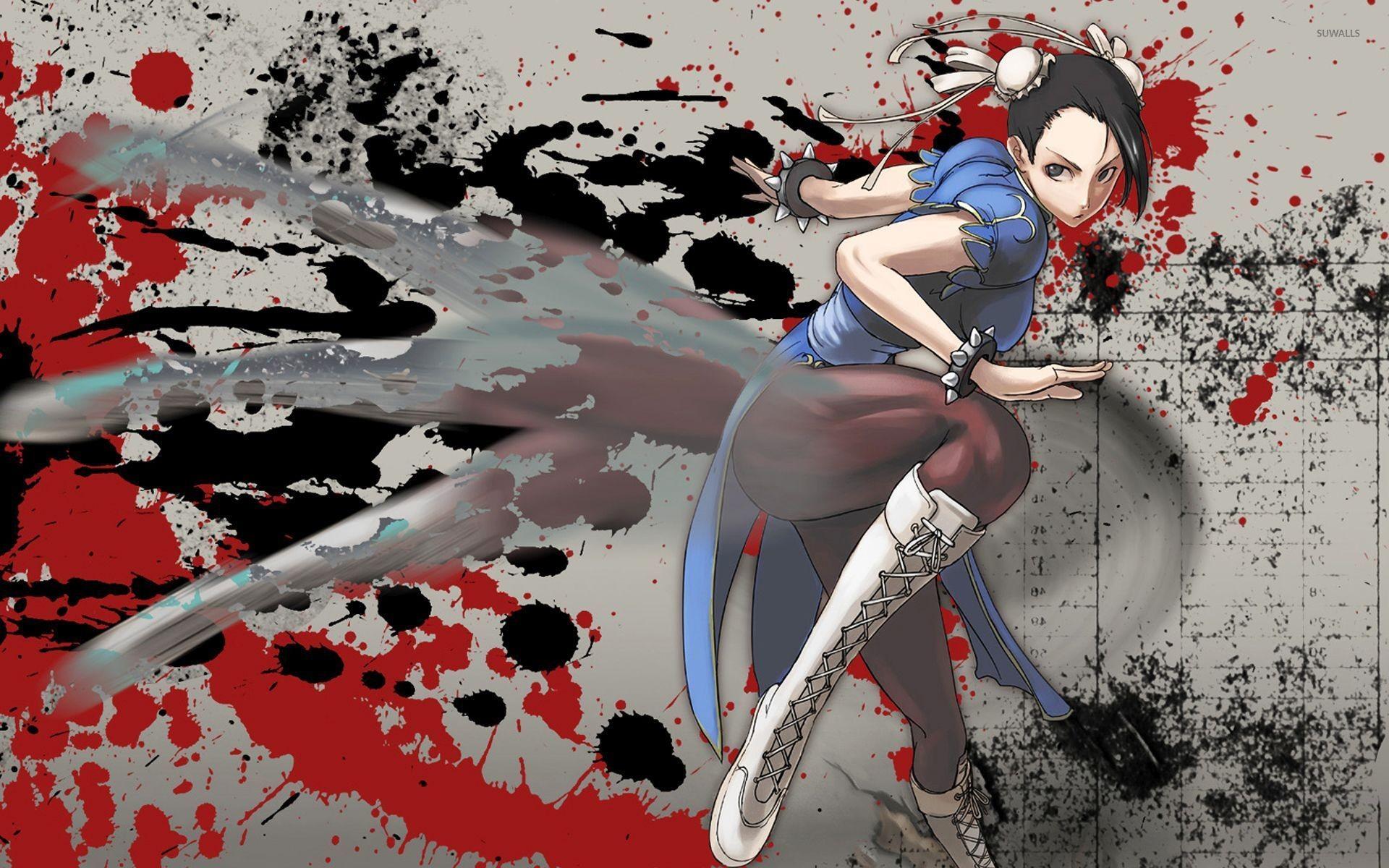 Chun-Li – The Street Fighter wallpaper jpg