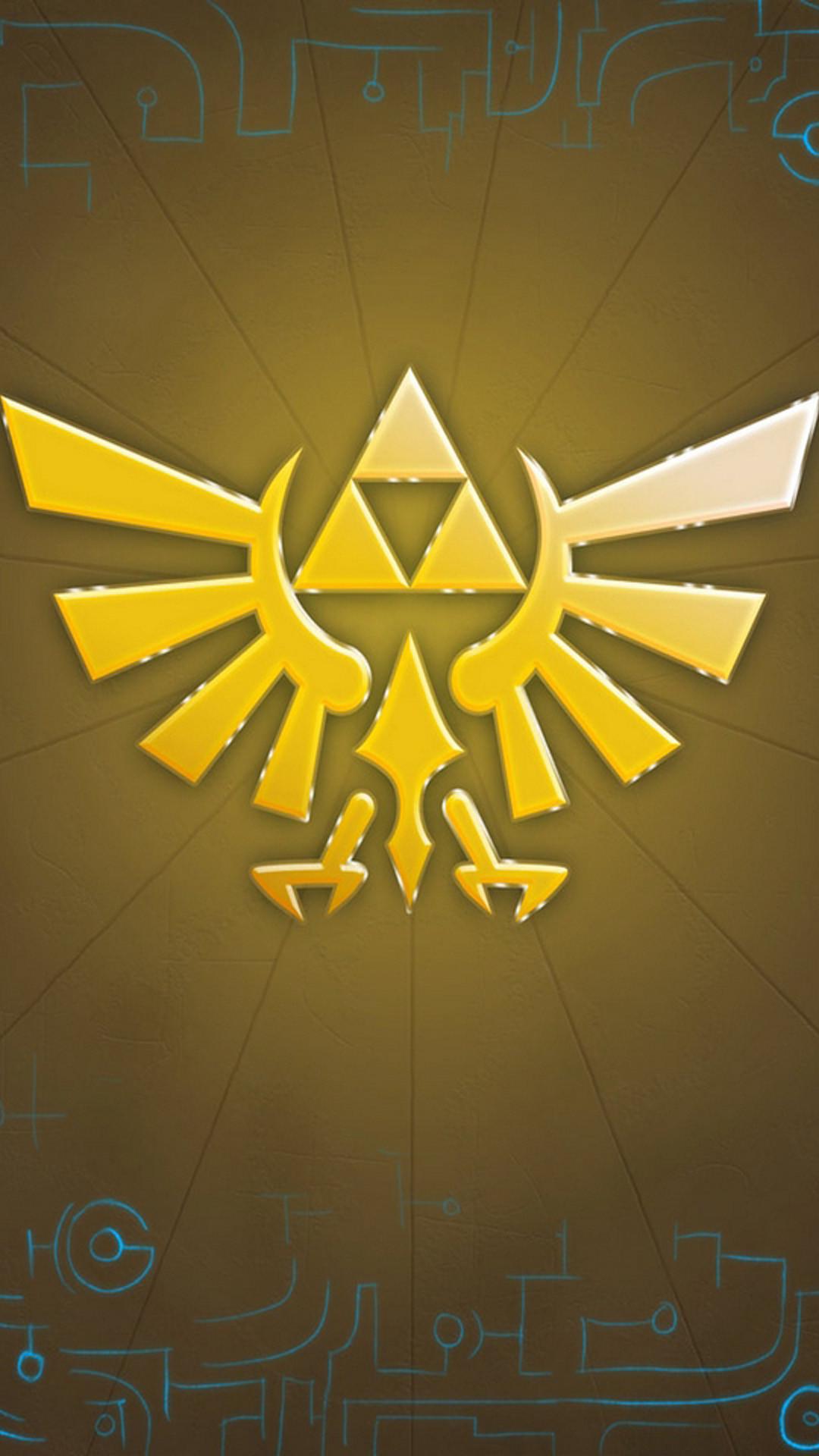 Zelda iPhone 6 Plus Wallpaper