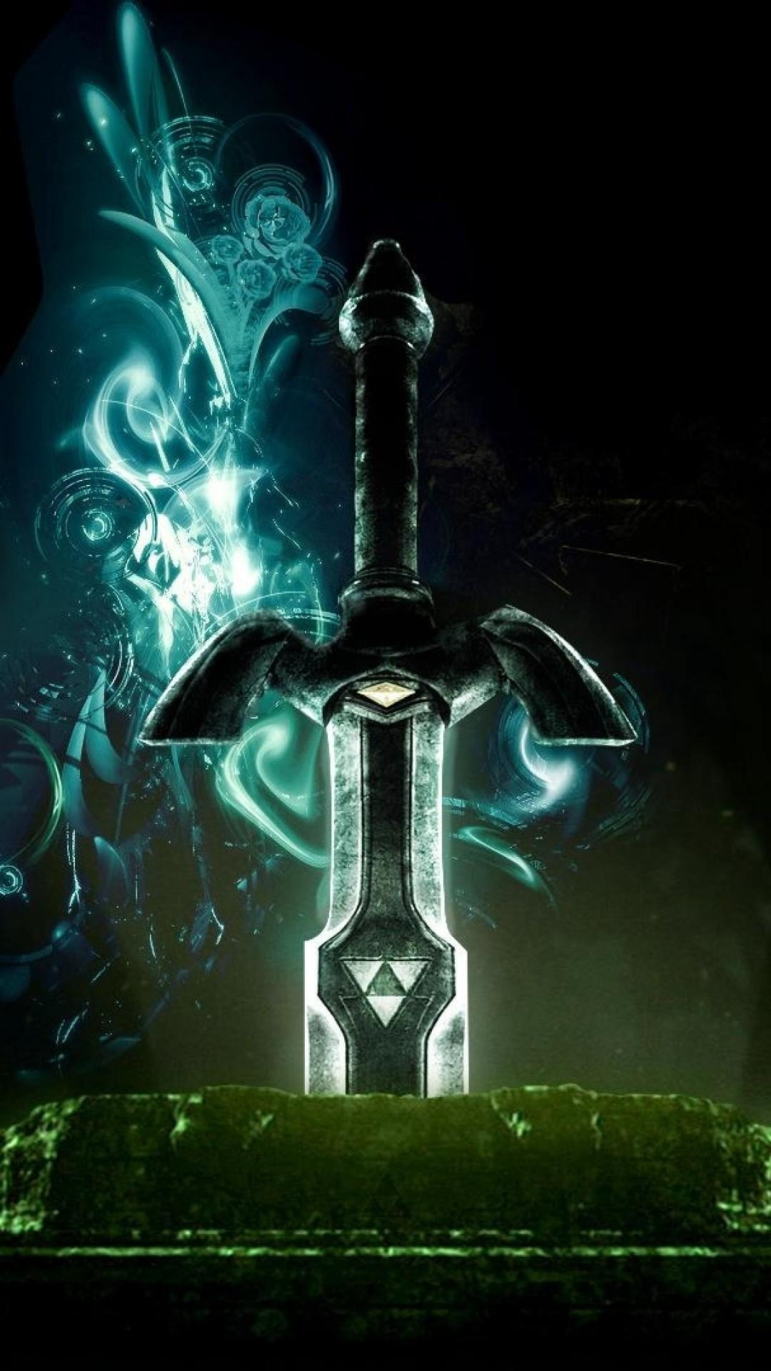 Wallpaper the legend of zelda, sword, graphics, background