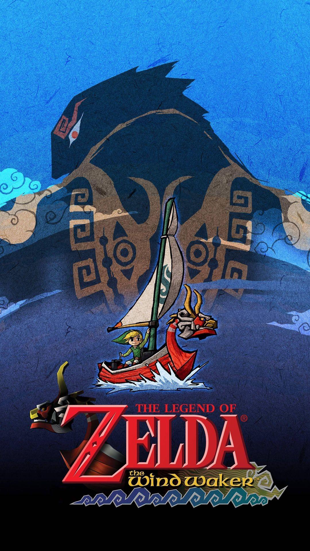 The Legend of Zelda – The Wind Waker Mobile Wallpaper 11445