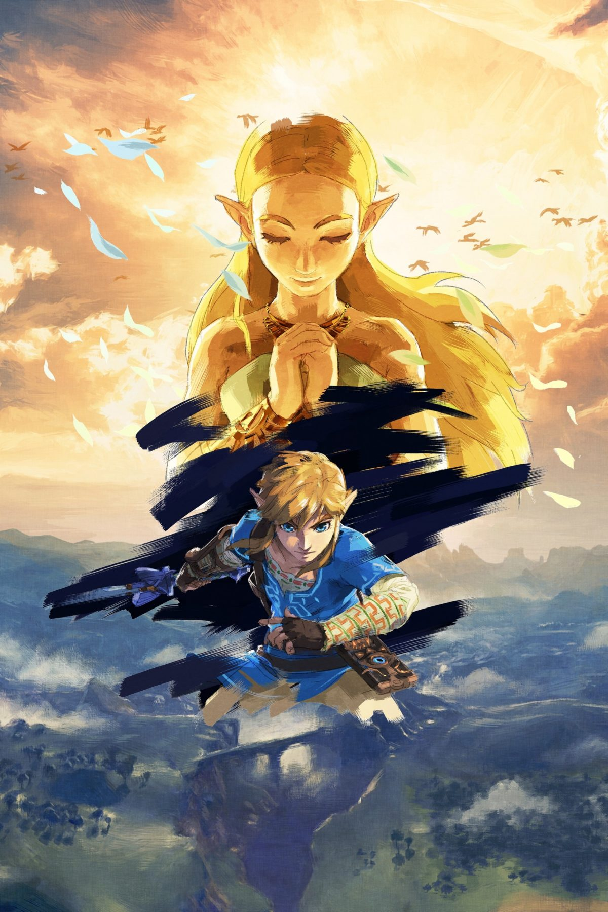 The Legend Of Zelda Breath Of The Wild Full Hd Art No Logo