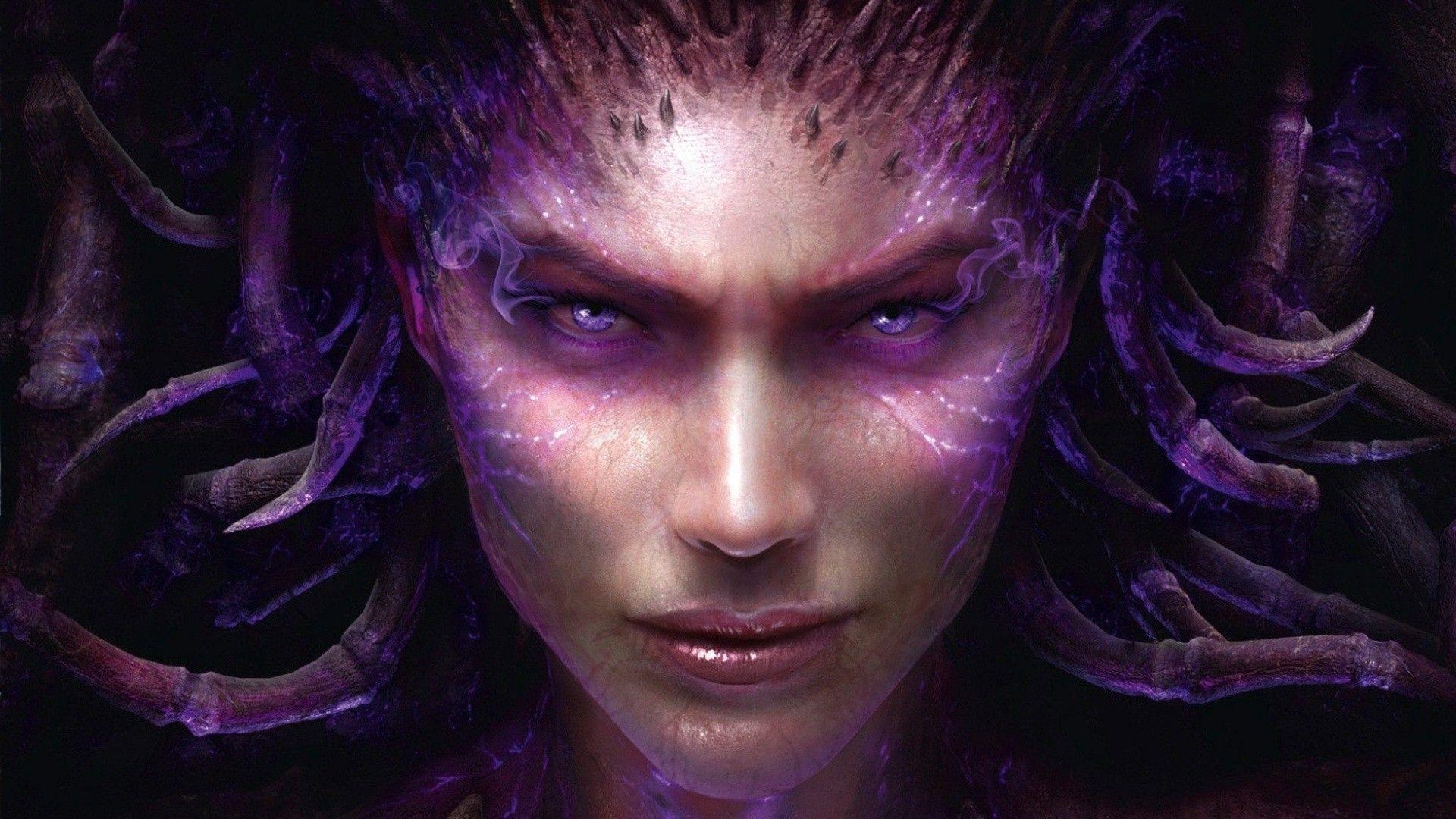 Sarah Kerrigan – StarCraft Wallpaper #