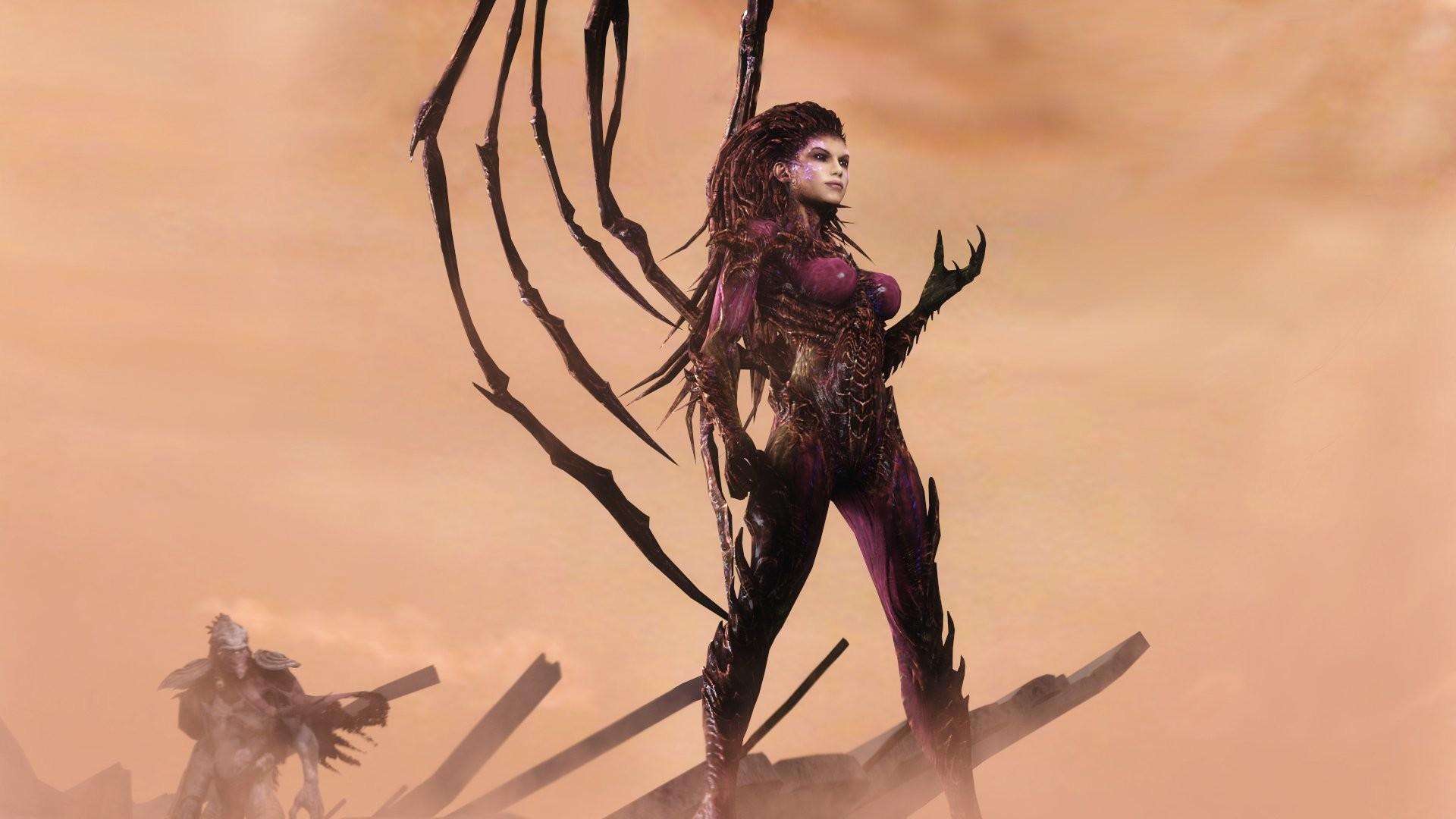 StarCraft 2 Supernatural beings Warrior Queen of Blades Sarah Kerrigan  Games Fantasy sci-fi wallpaper | | 437558 | WallpaperUP