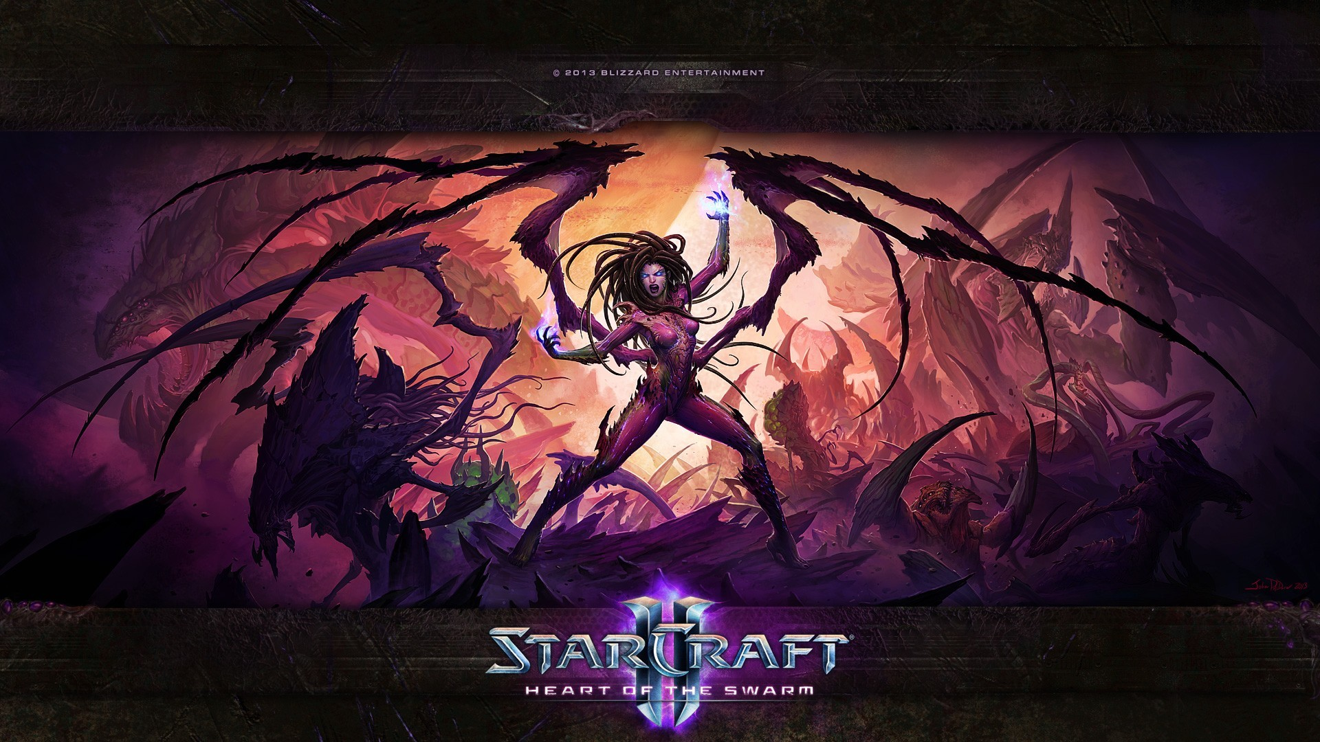 Starcraft II, Video Games, Sarah Kerrigan Wallpapers HD / Desktop and  Mobile Backgrounds